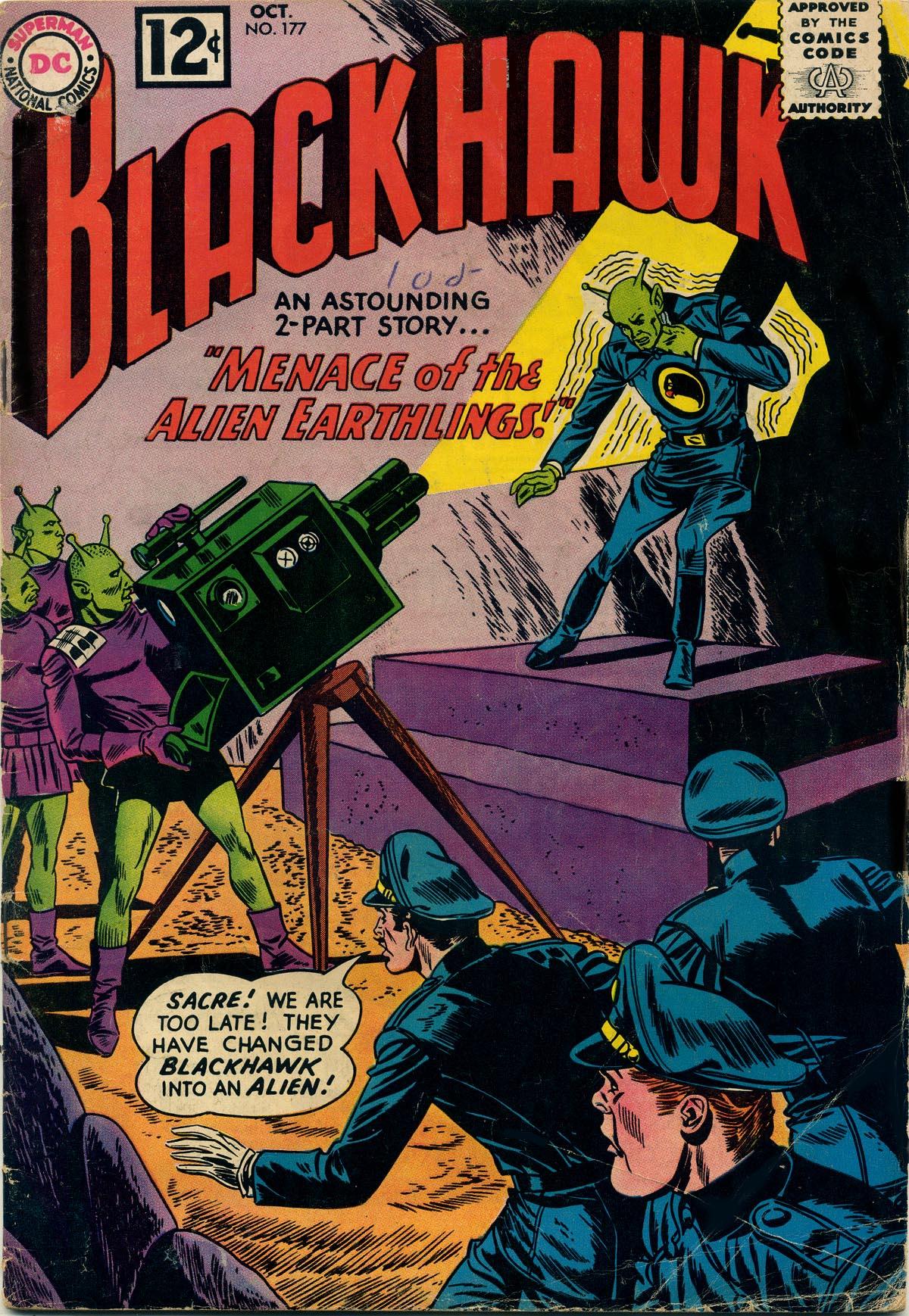 Blackhawk (1957) 177 Page 1