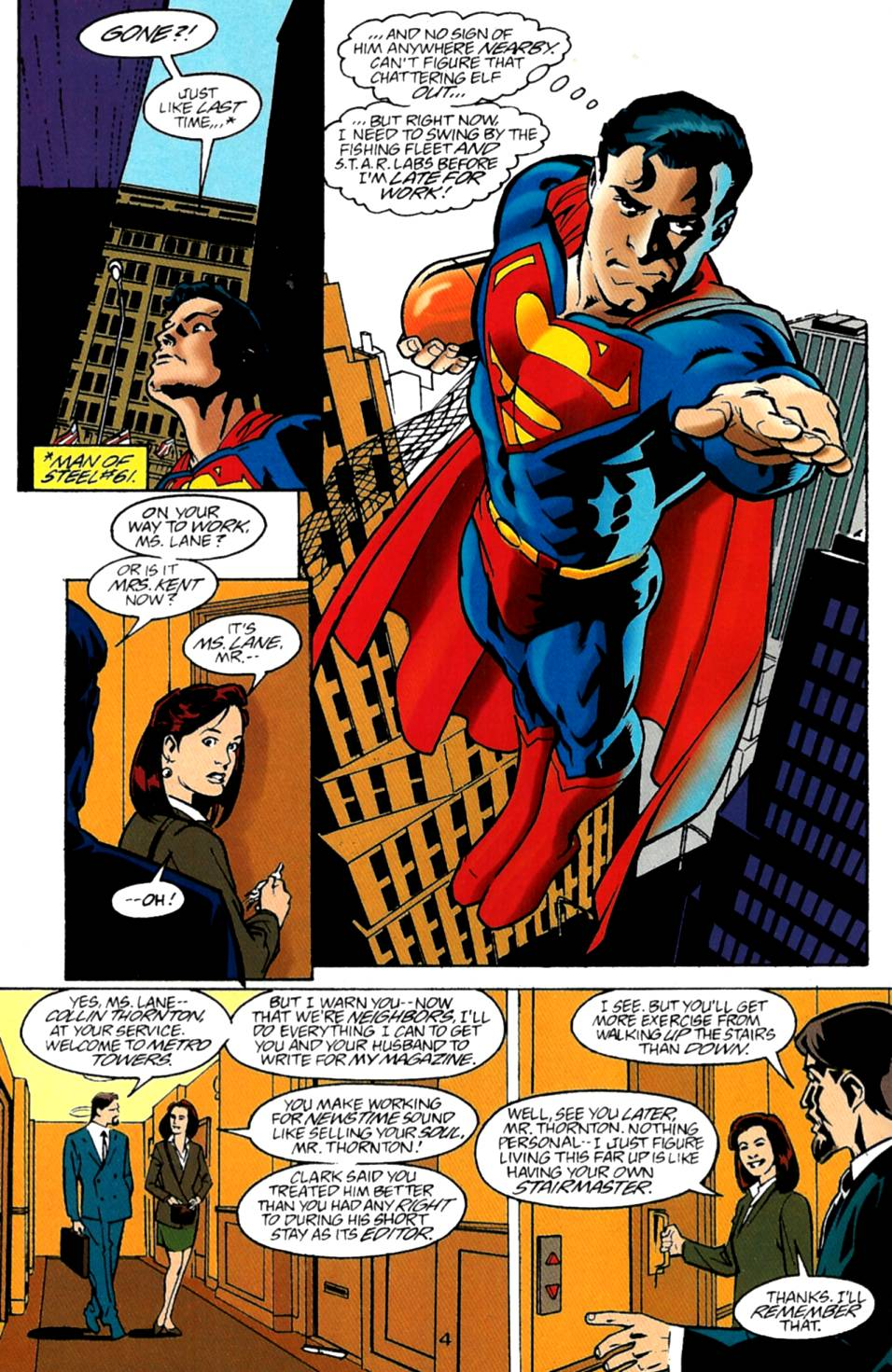 Read online Adventures of Superman (1987) comic -  Issue #543 - 5
