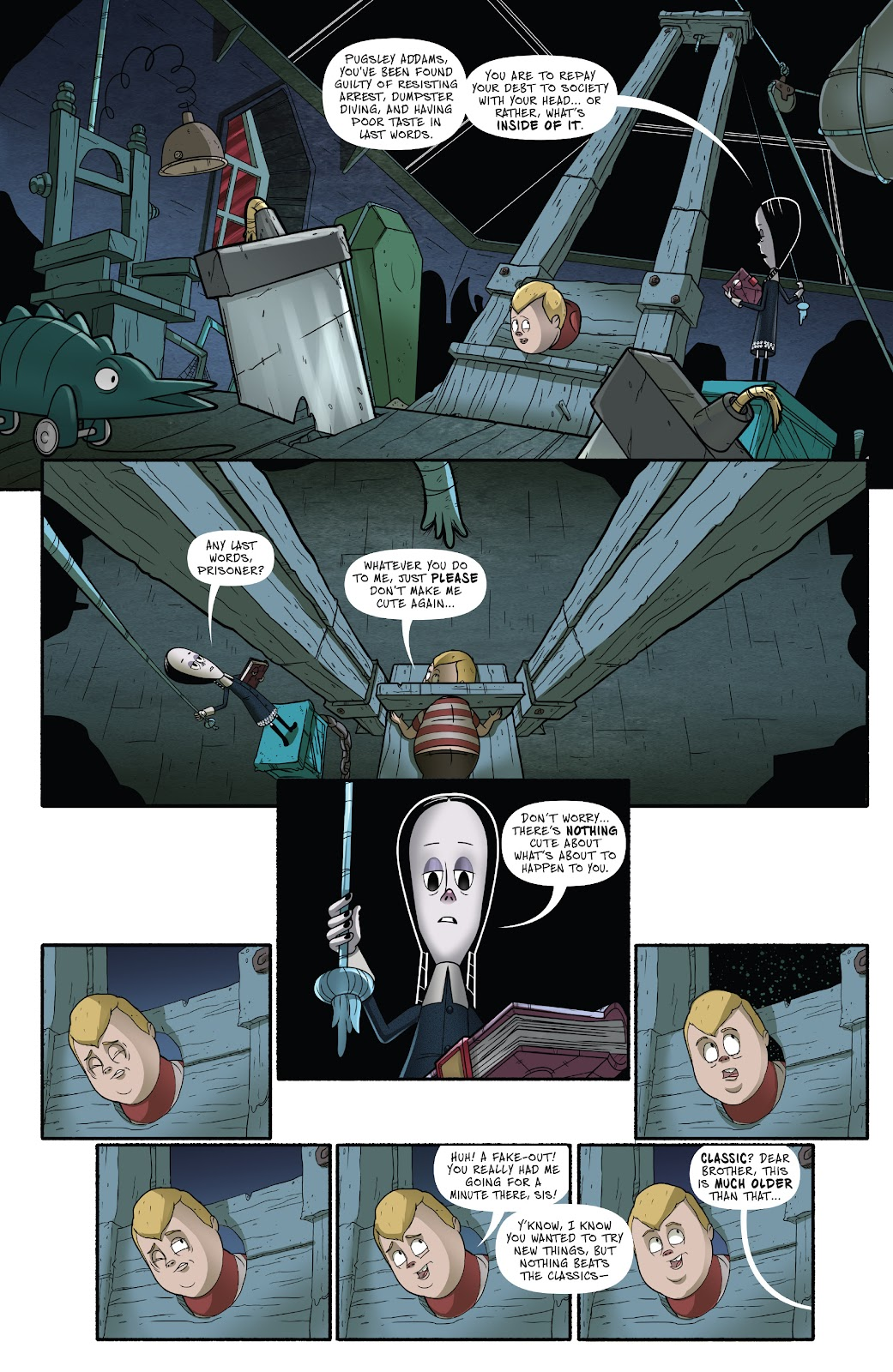 Read online Addams Family: The Bodies Issue comic -  Issue # Full - 25