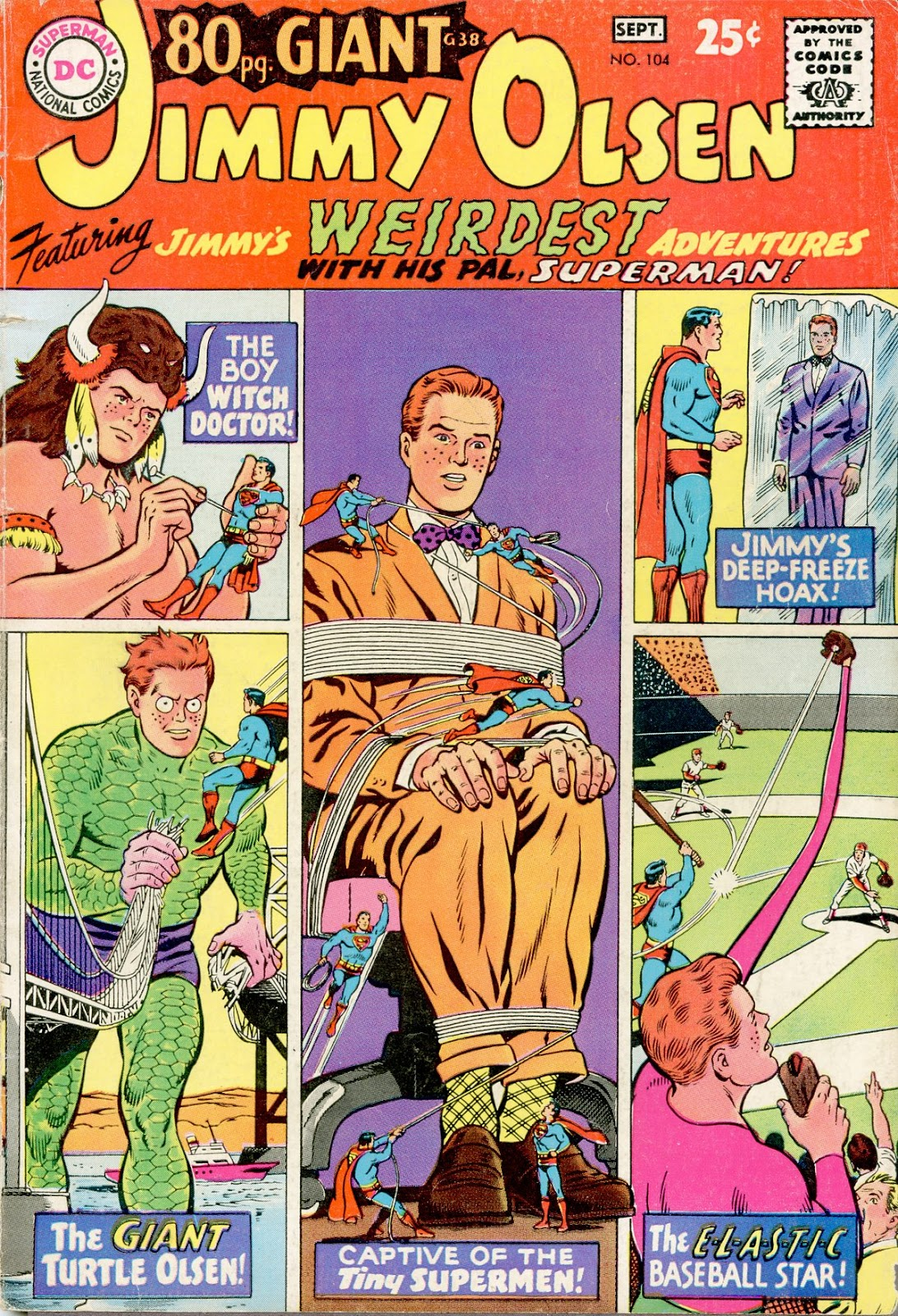 Supermans Pal Jimmy Olsen (1954) 104 Page 1