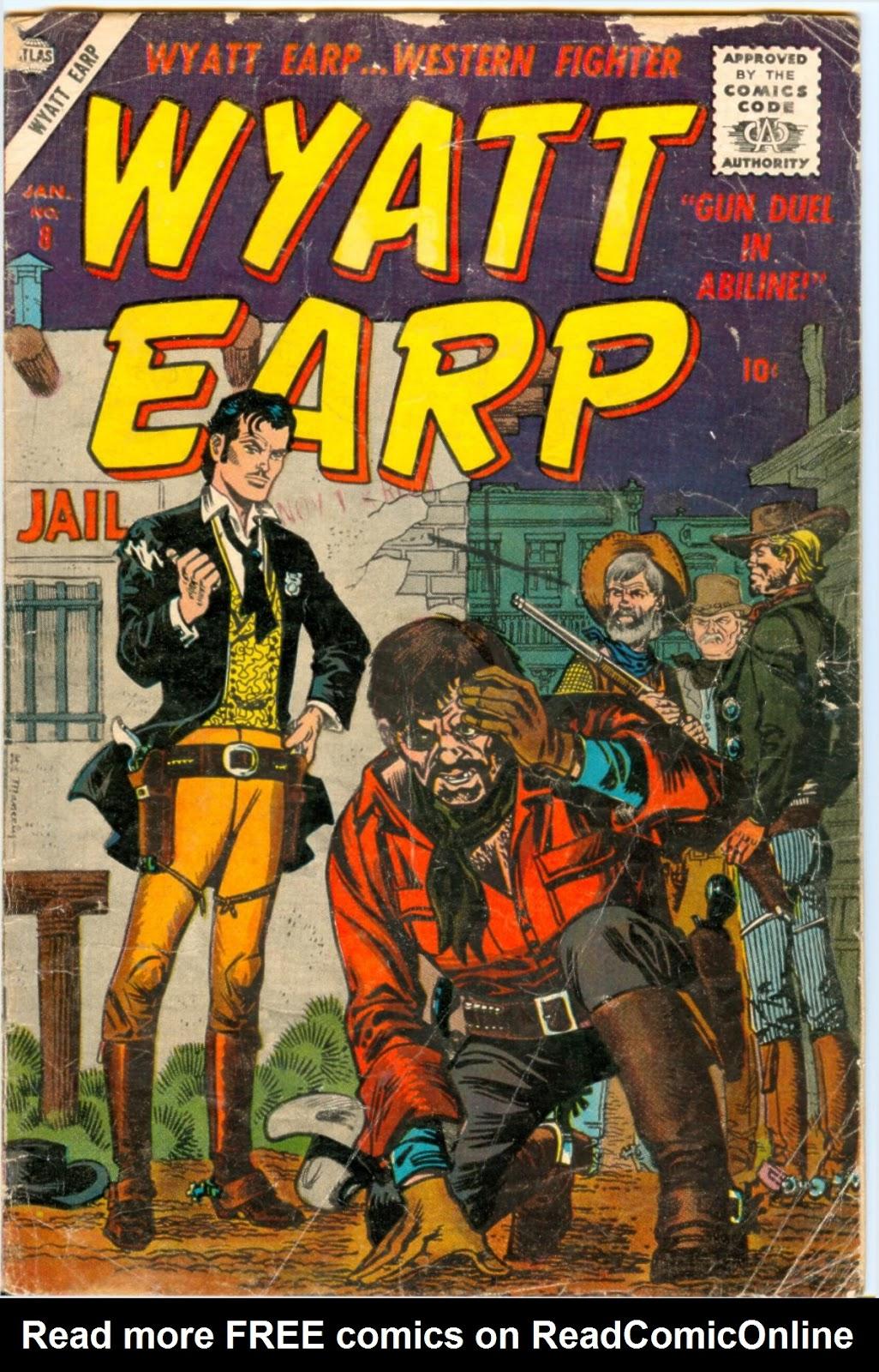 Wyatt Earp 8 Page 1