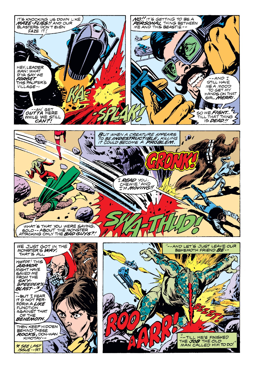 Read online Star Wars Legends: The Original Marvel Years - Epic Collection comic -  Issue # TPB 1 (Part 2) - 76
