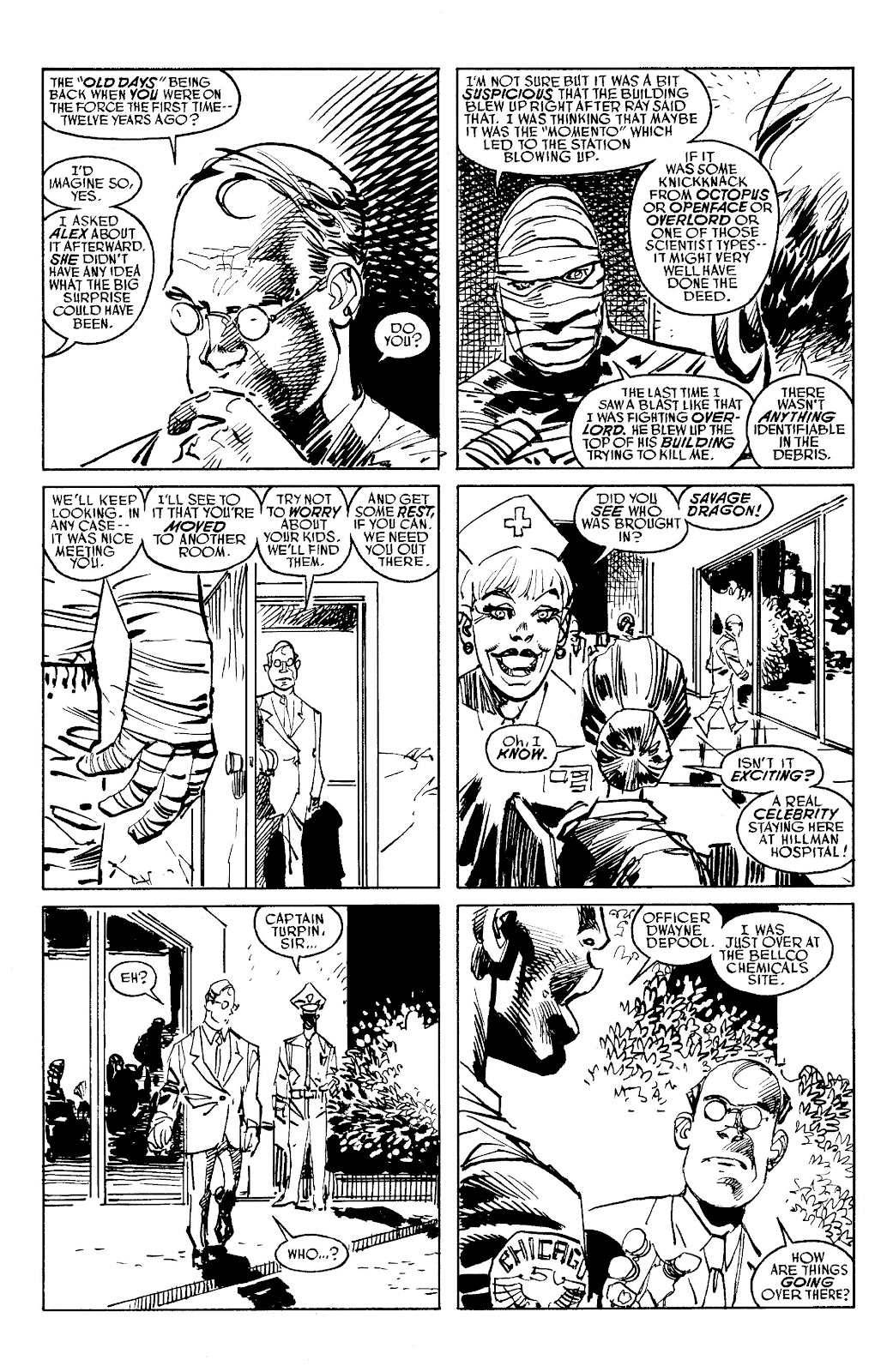 Read online Savage Dragon Archives comic -  Issue # TPB 6 (Part 5) - 25