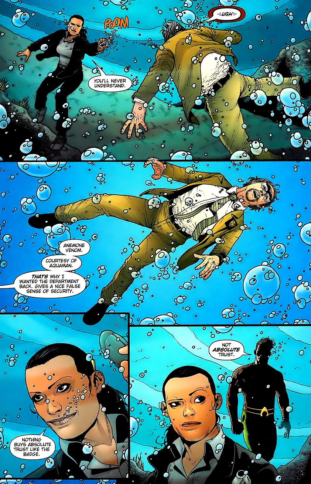Read online Aquaman (2003) comic -  Issue #31 - 14