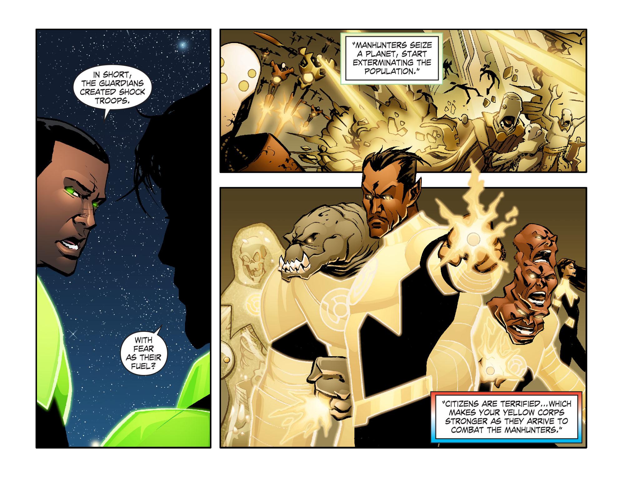 Read online Smallville: Lantern [I] comic -  Issue #6 - 6