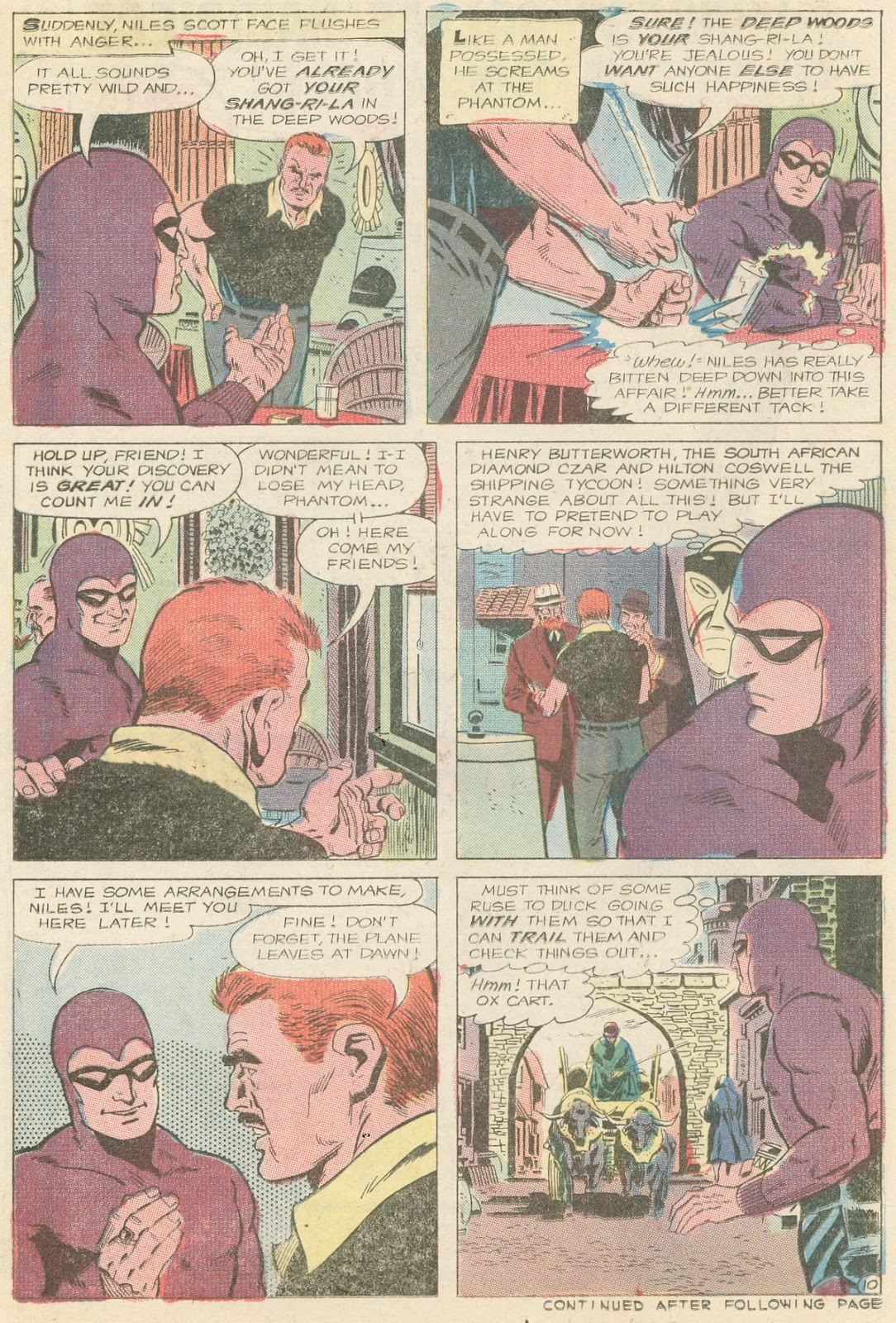The Phantom (1969) issue 31 - Page 11
