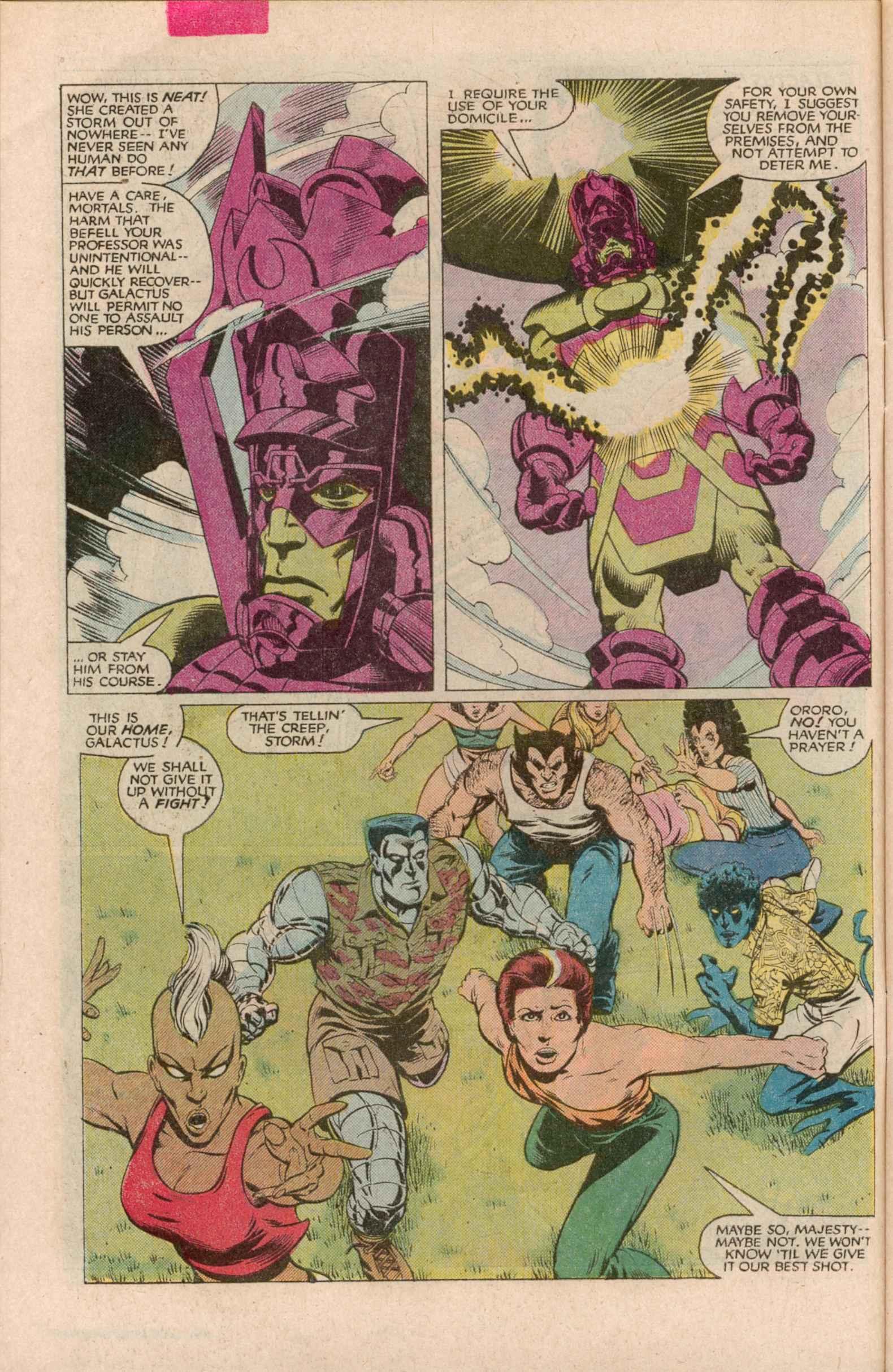 Read online Uncanny X-Men (1963) comic -  Issue # _Annual 7 - 7