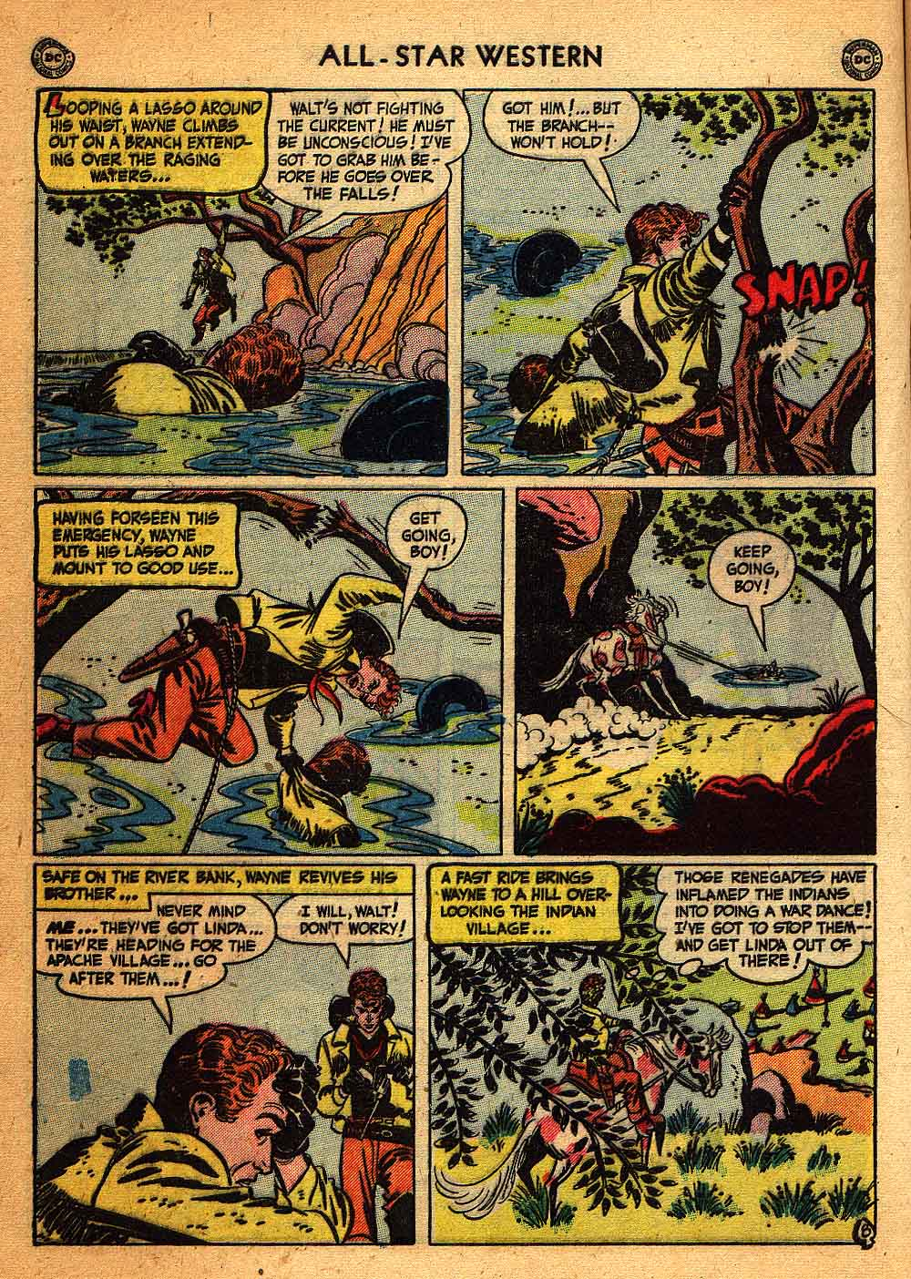 Read online All-Star Western (1951) comic -  Issue #58 - 10