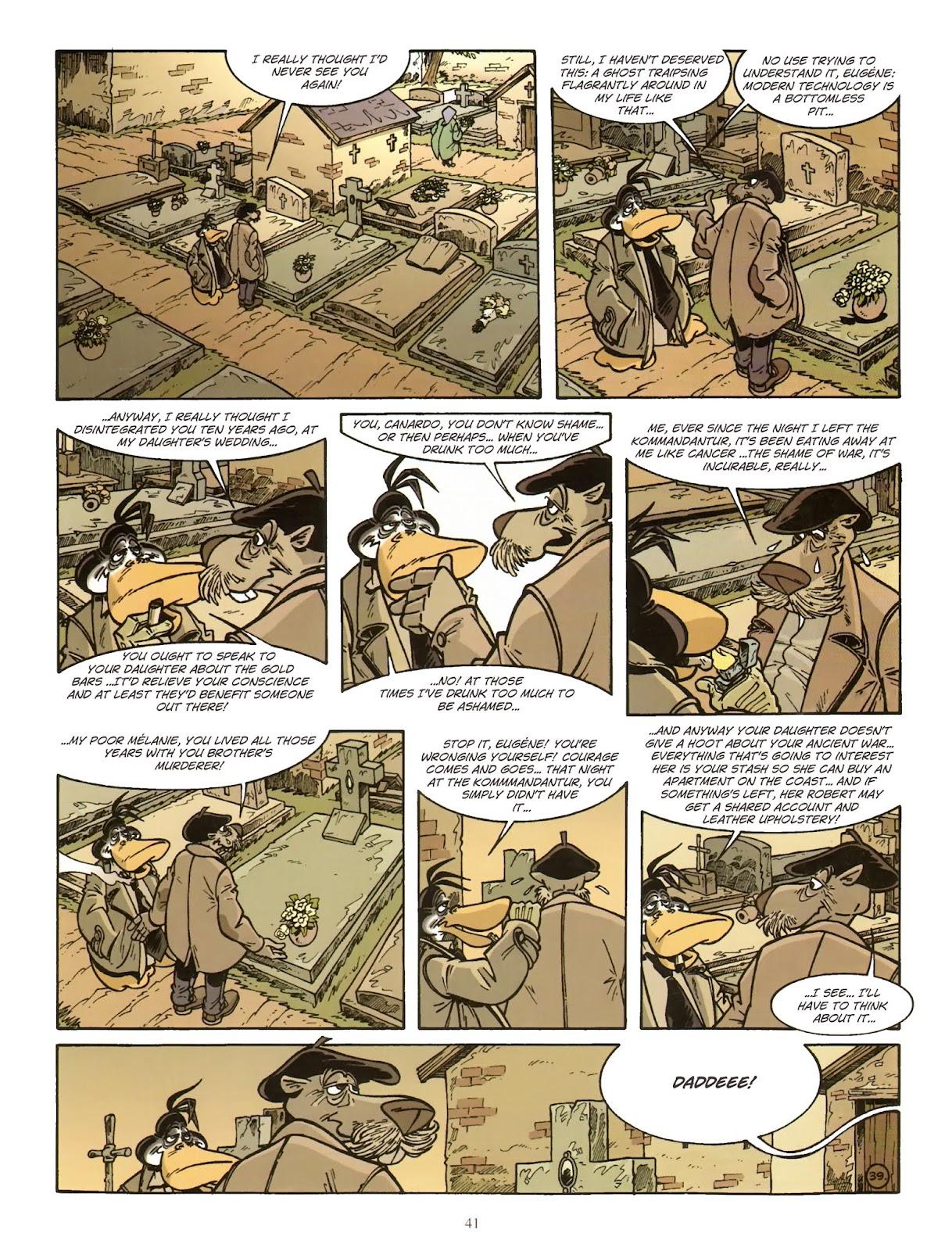 Une enquête de l'inspecteur Canardo issue 11 - Page 42