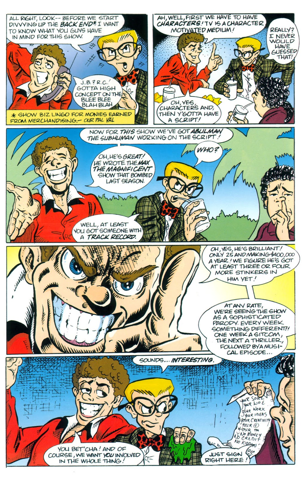 Read online Normalman 20th Anniversary Special comic -  Issue # Full - 29