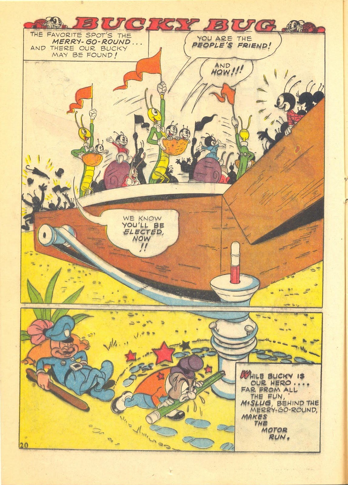 Walt Disney's Comics and Stories issue 40 - Page 22