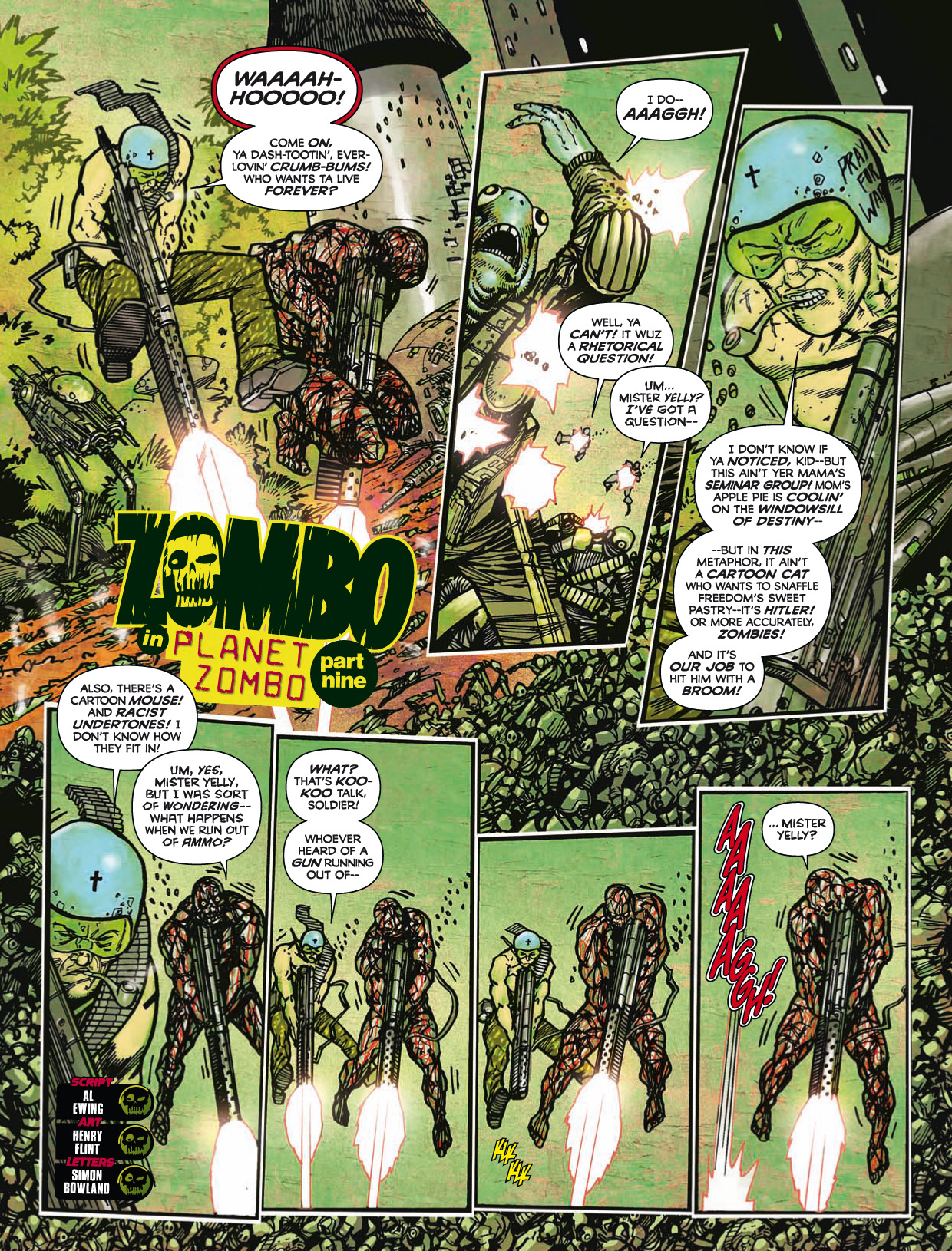 Read online 2000 AD comic -  Issue #1746 - 182