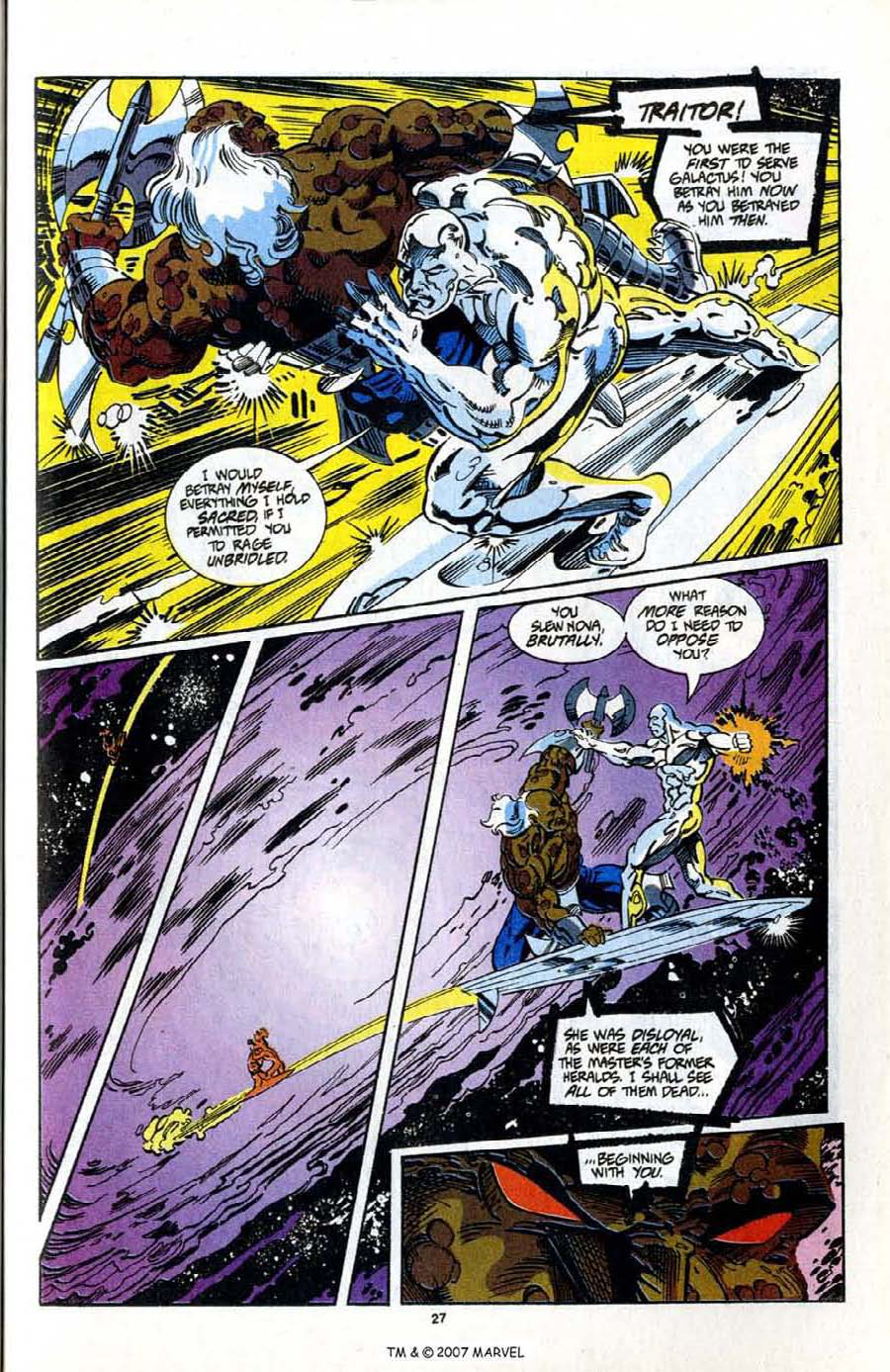 Read online Silver Surfer (1987) comic -  Issue # _Annual 7 - 29