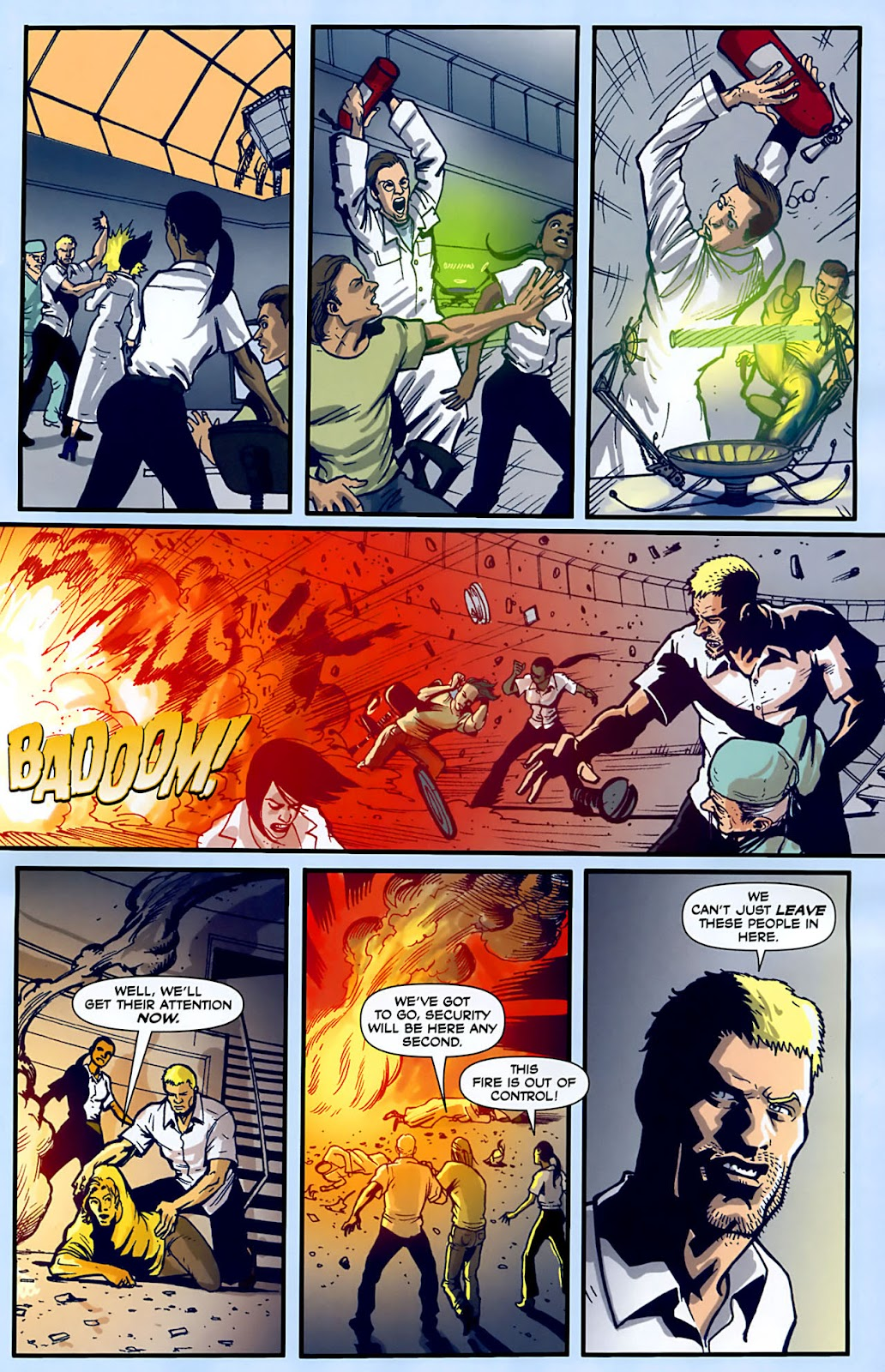Read online Lazarus (2007) comic -  Issue #3 - 11