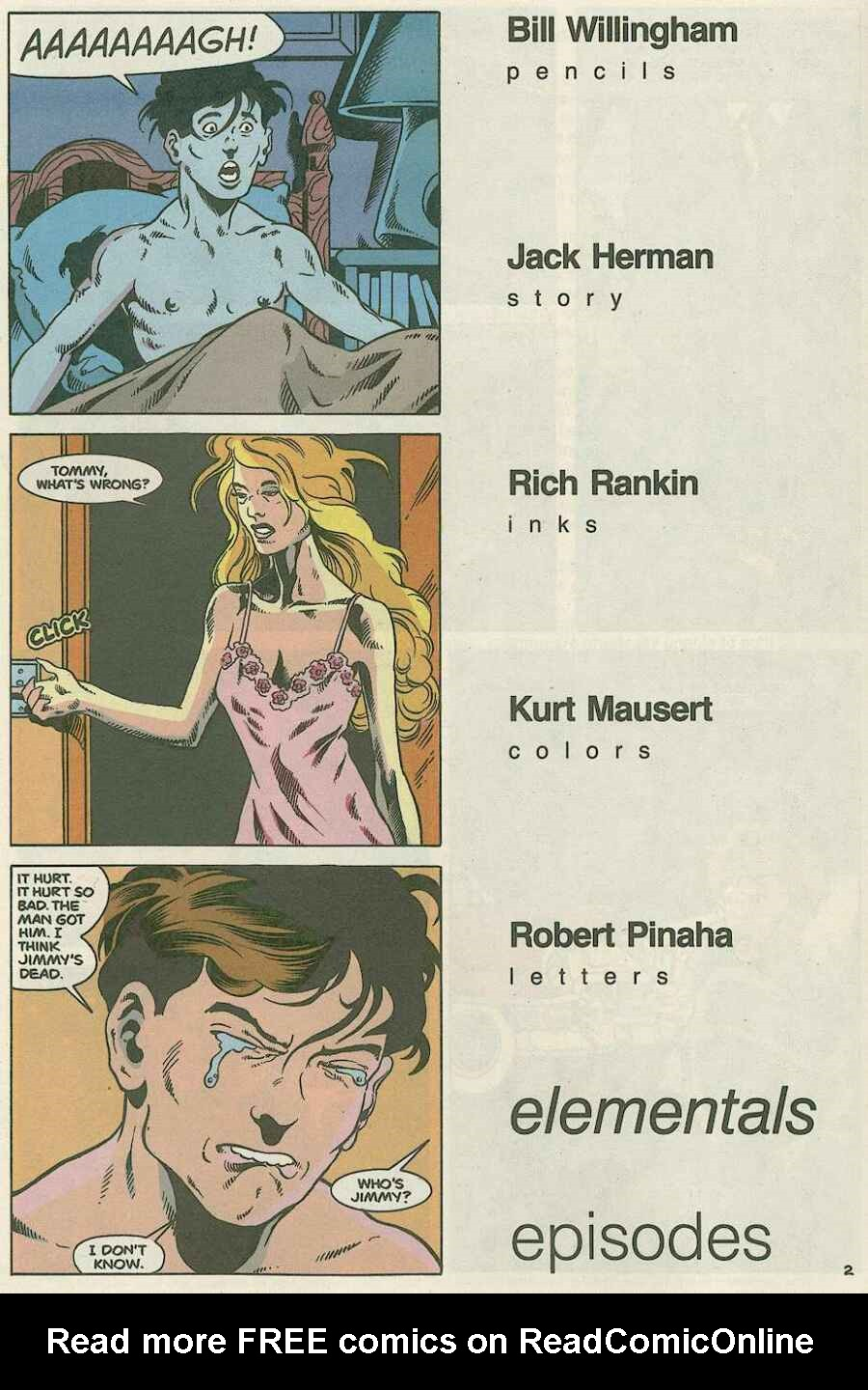 Elementals (1984) issue Special 1 - Page 5