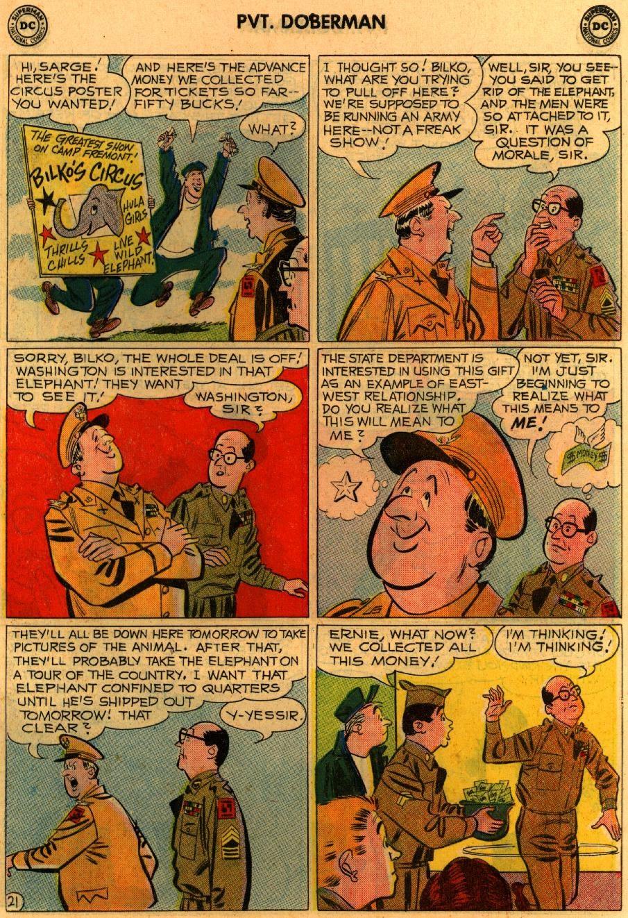 Sgt. Bilko's Pvt. Doberman issue 9 - Page 27