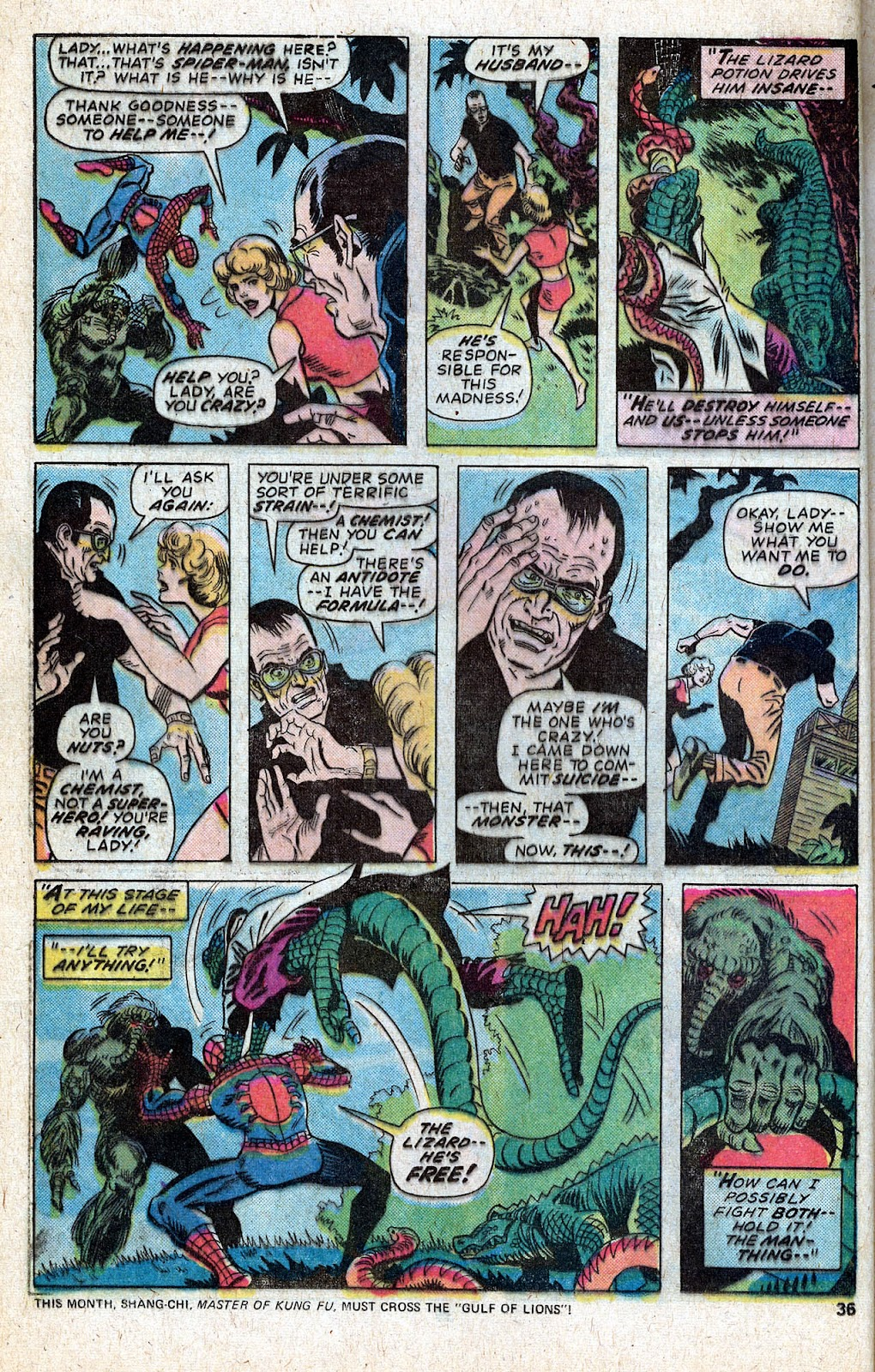 Giant-Size Spider-Man (1974) issue 5 - Page 38