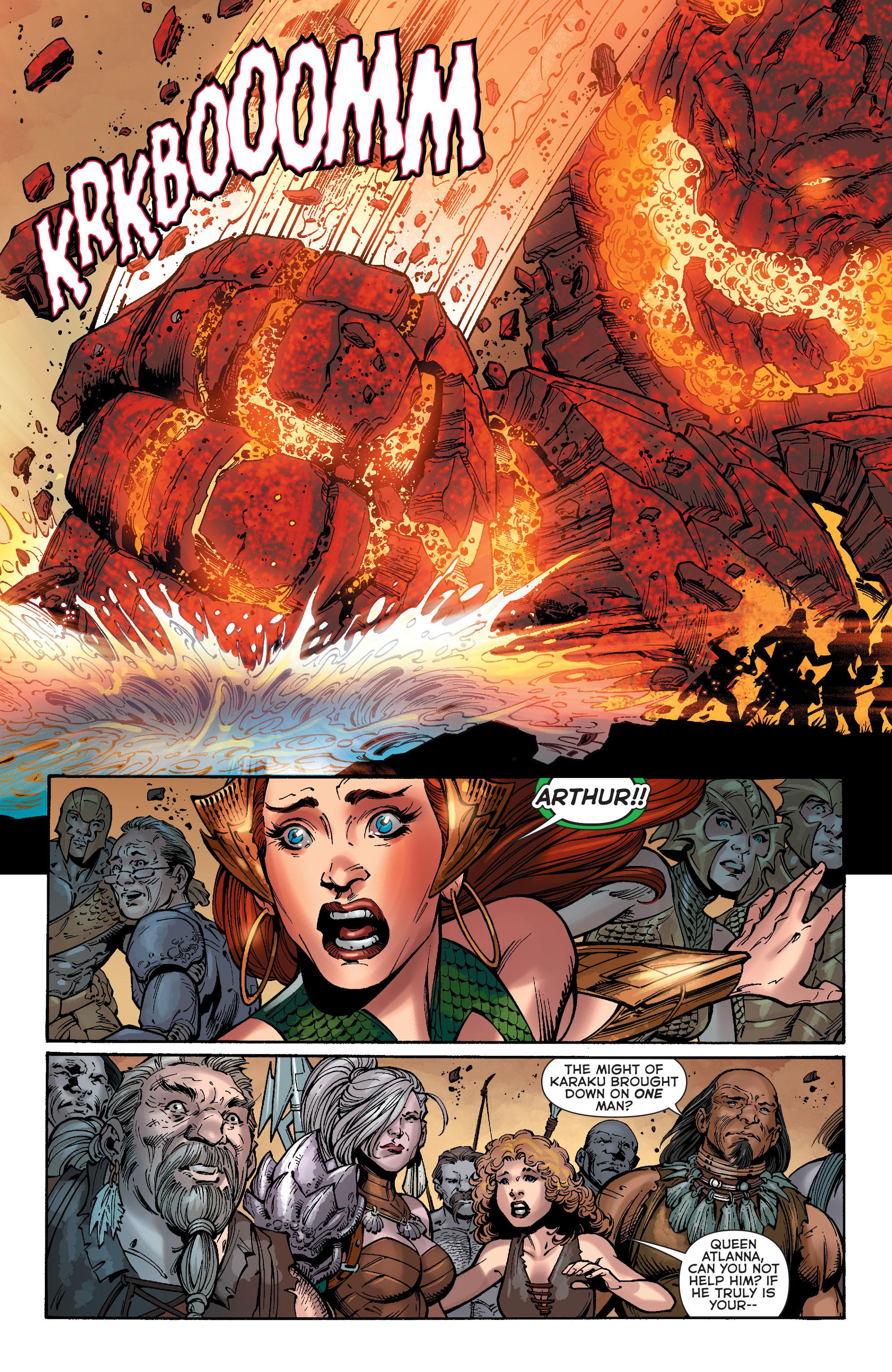 Read online Aquaman (2011) comic -  Issue #40 - 7