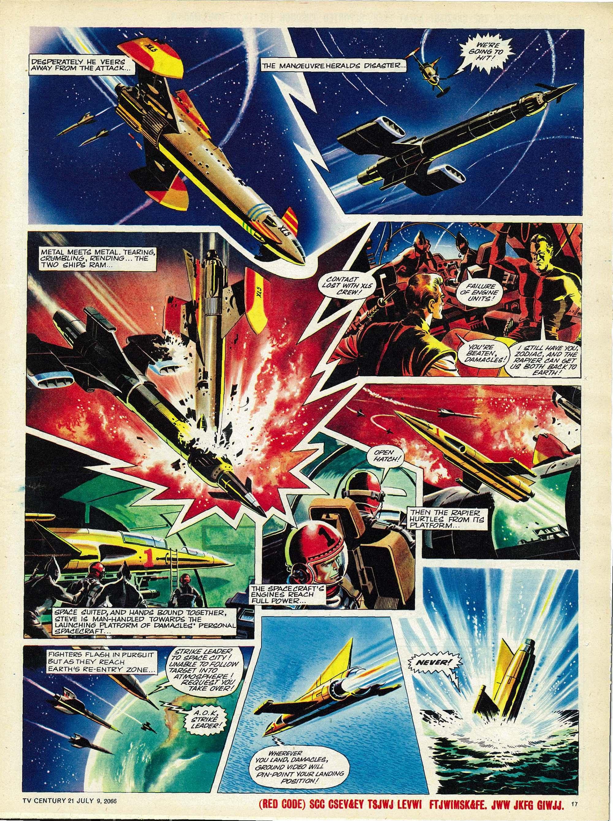 Read online TV Century 21 (TV 21) comic -  Issue #77 - 16
