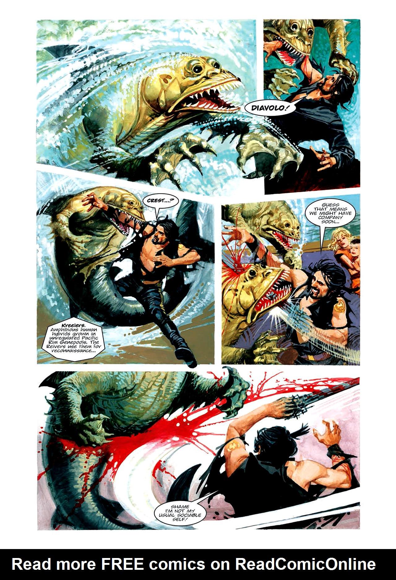 Read online Nikolai Dante comic -  Issue # TPB 6 - 96