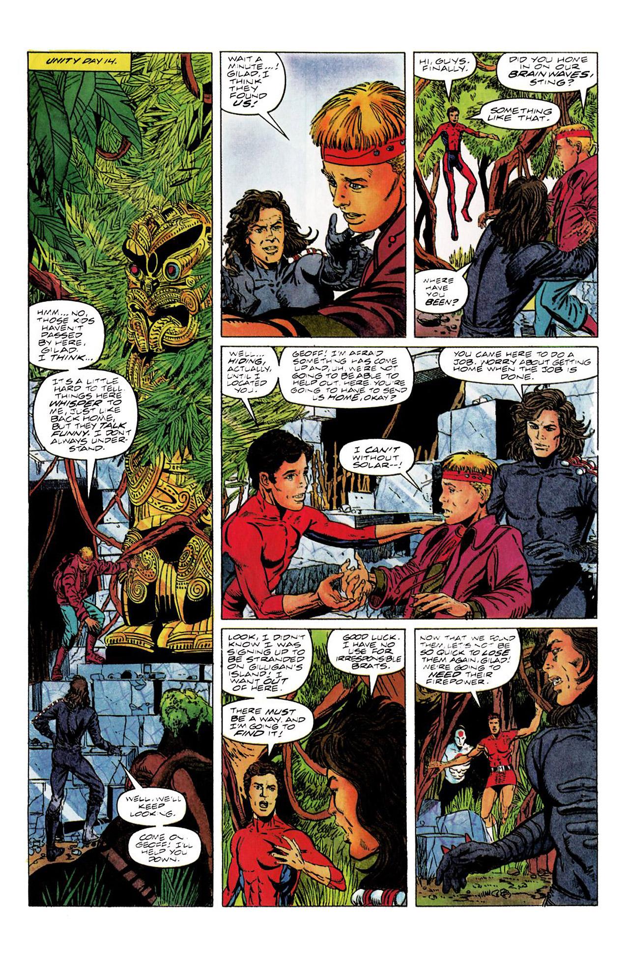Read online Harbinger (1992) comic -  Issue #8 - 11