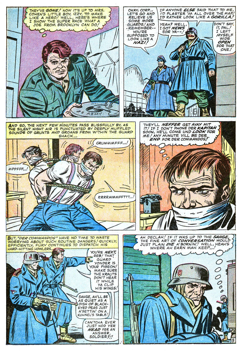 Read online Sgt. Fury comic -  Issue #18 - 14