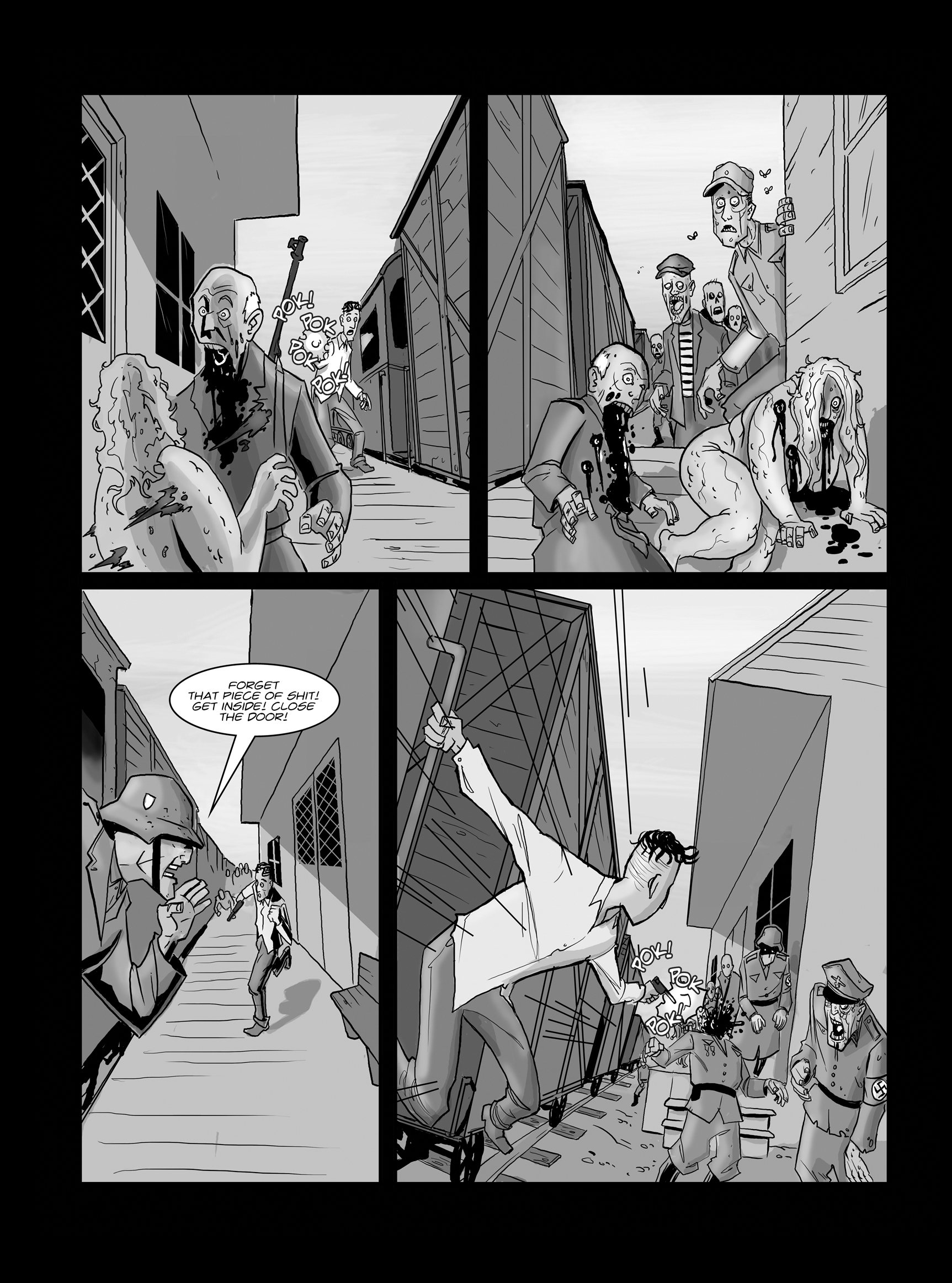 Read online FUBAR comic -  Issue #1 - 20