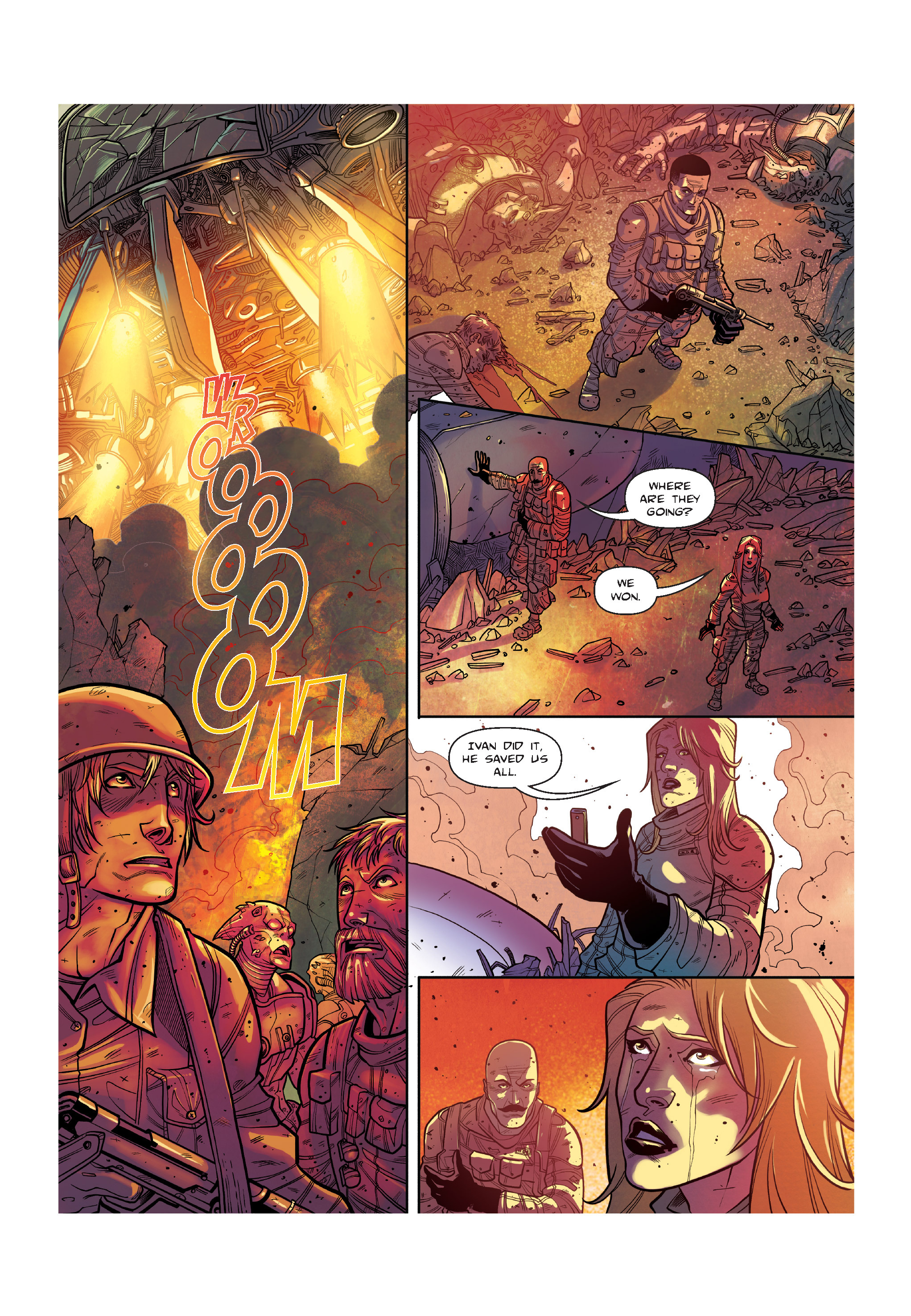 Read online The Shadow of a Terrible Thing comic -  Issue # TPB - 137