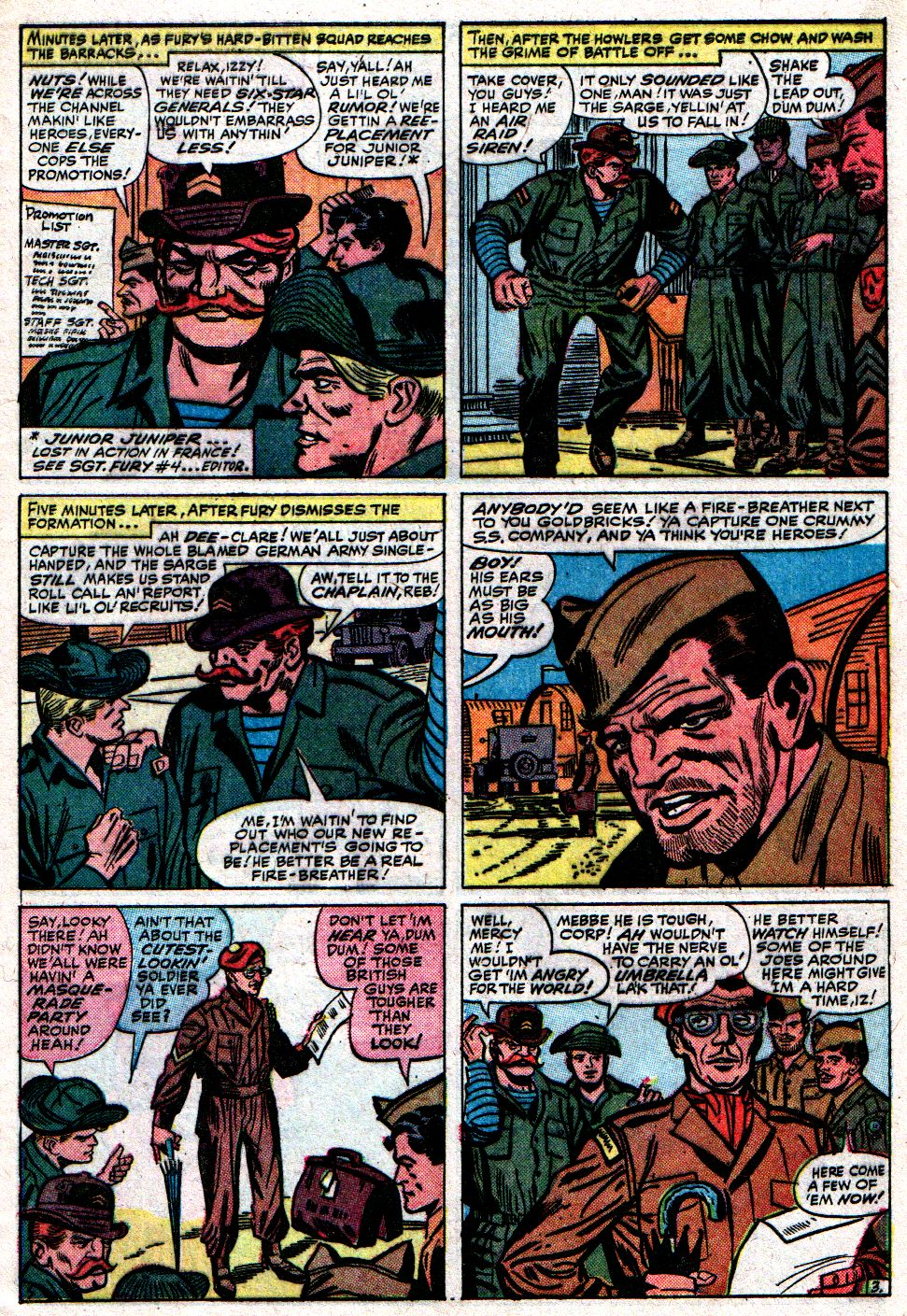 Read online Sgt. Fury comic -  Issue #8 - 5