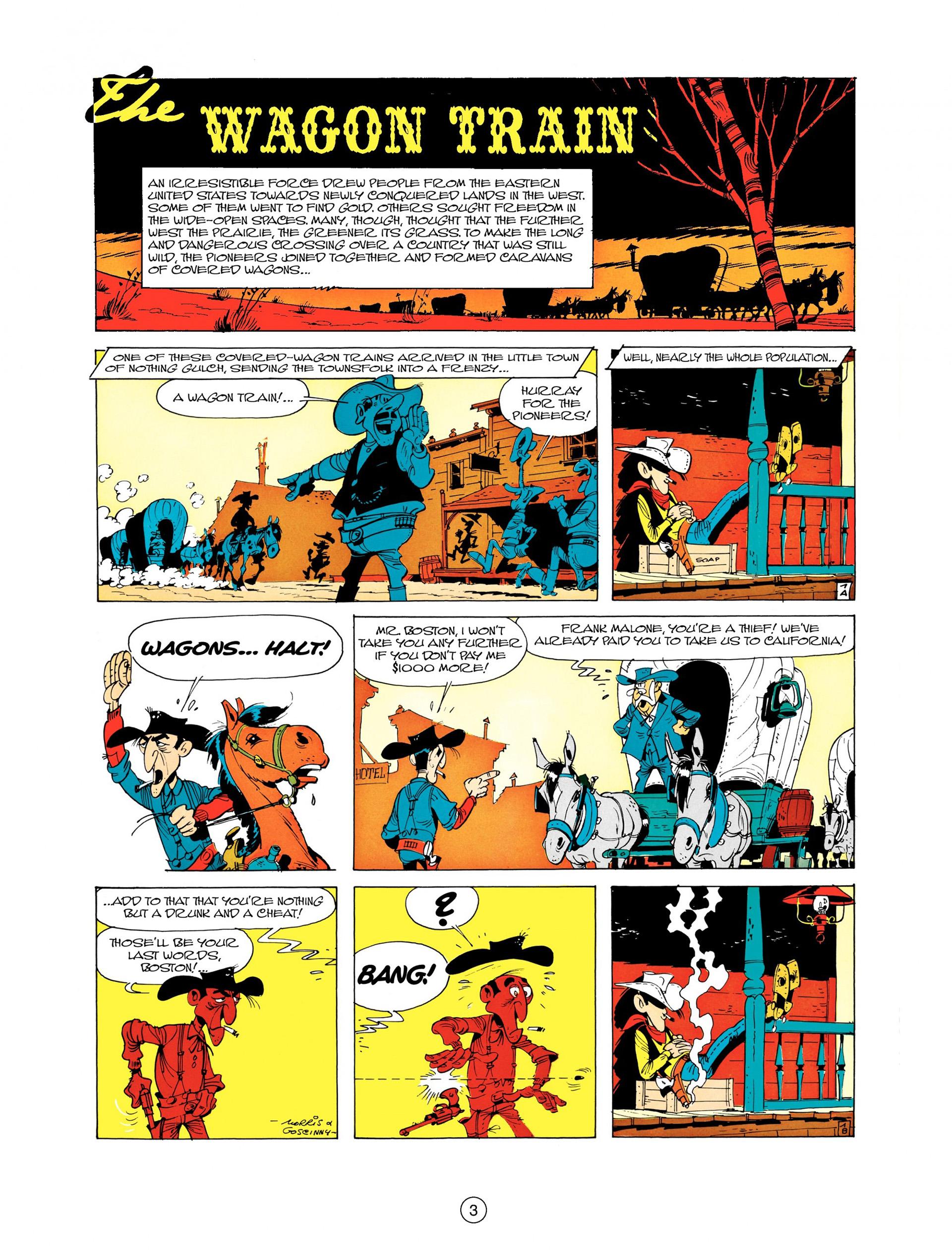 Read online A Lucky Luke Adventure comic -  Issue #9 - 3