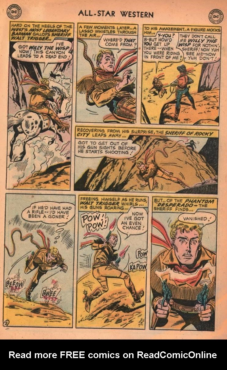 Read online All-Star Western (1951) comic -  Issue #87 - 28