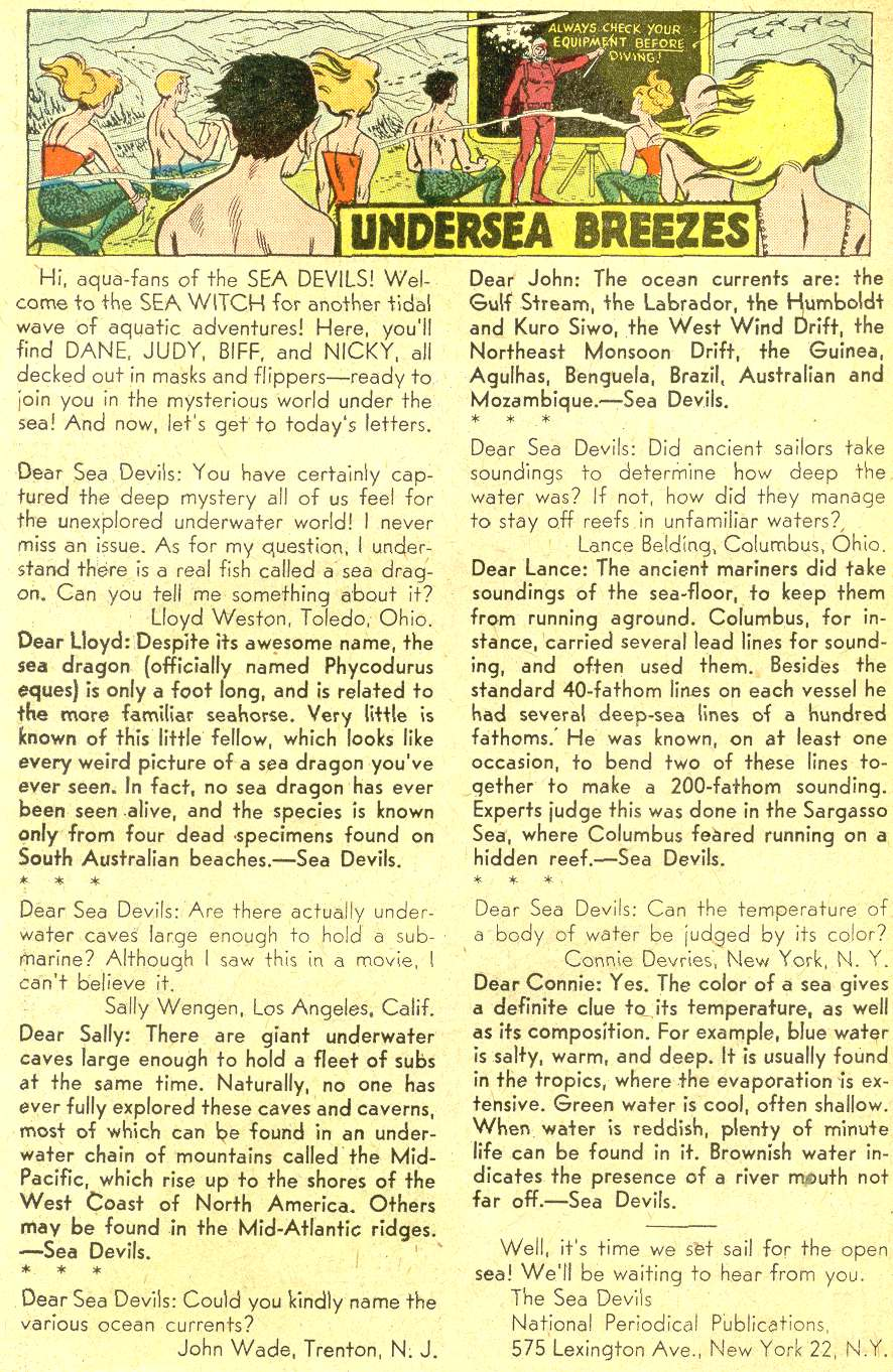 Read online Sea Devils comic -  Issue #10 - 19