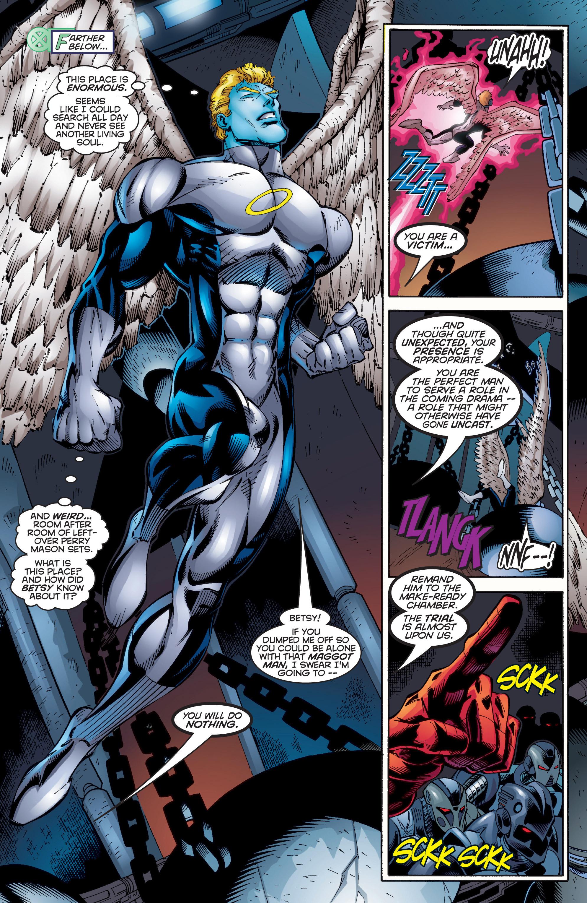 Read online Uncanny X-Men (1963) comic -  Issue #350 - 20