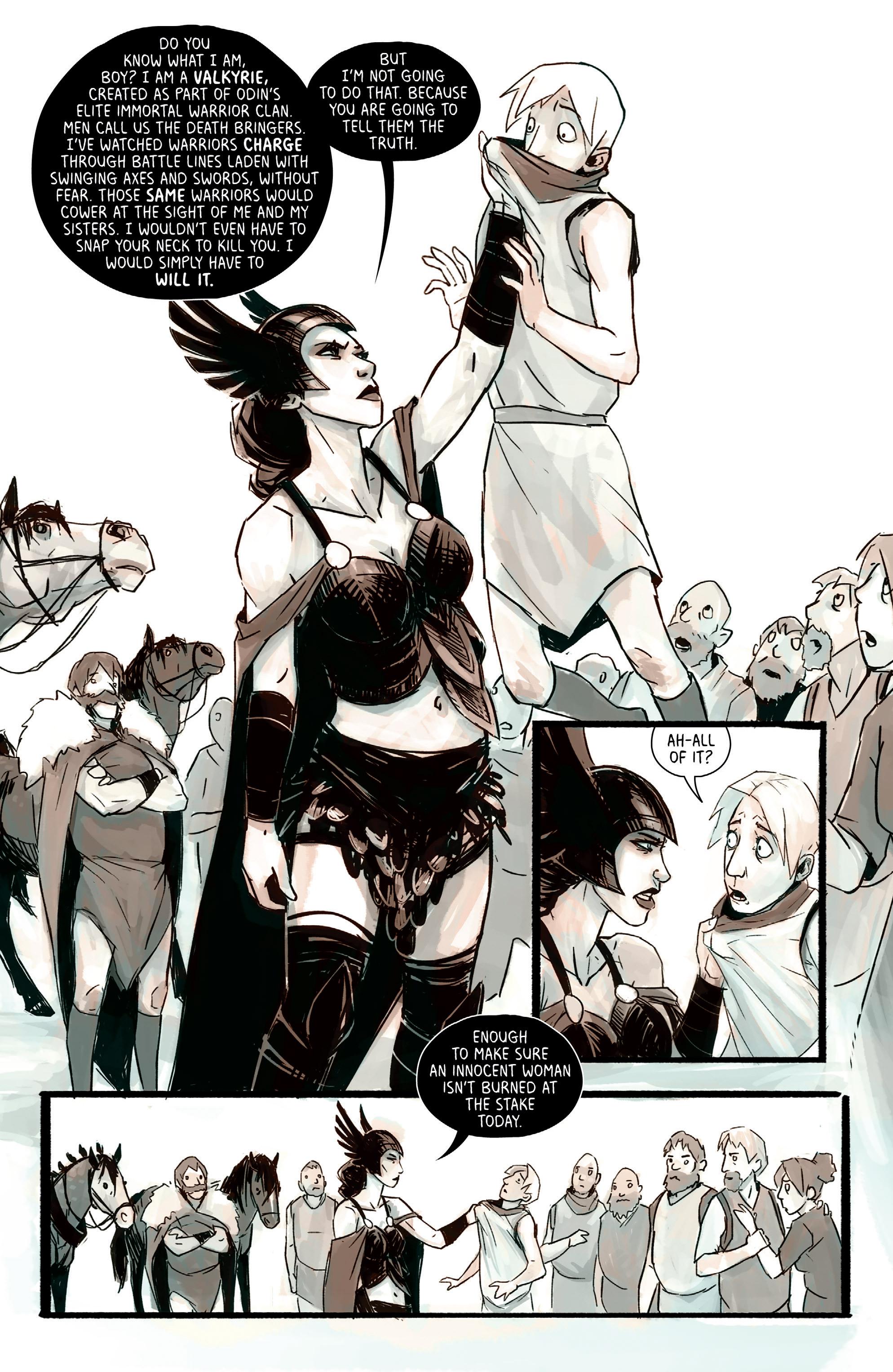 Read online Heathen (2017) comic -  Issue #4 - 16