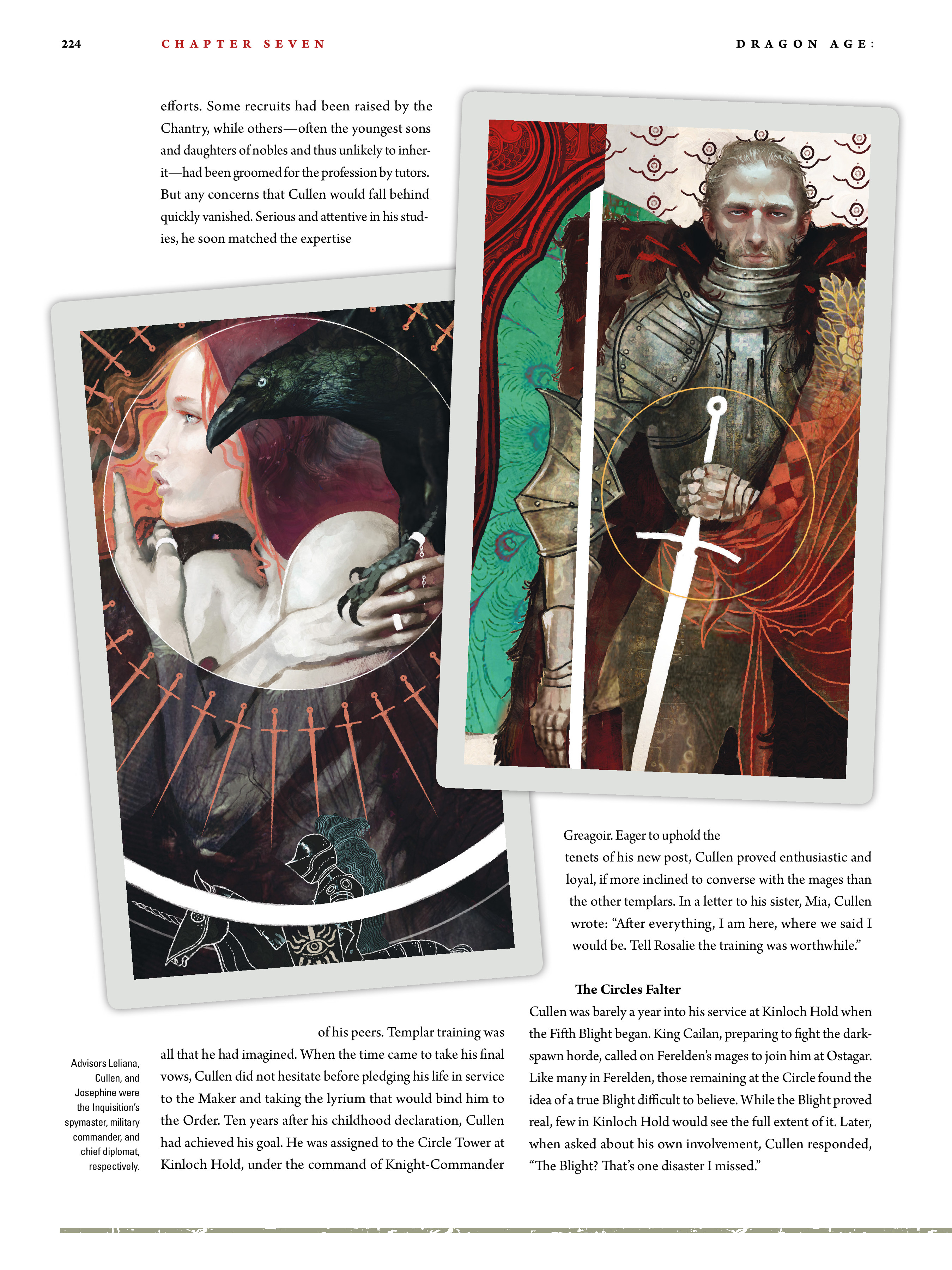 Read online Dragon Age: The World of Thedas comic -  Issue # TPB 2 - 219