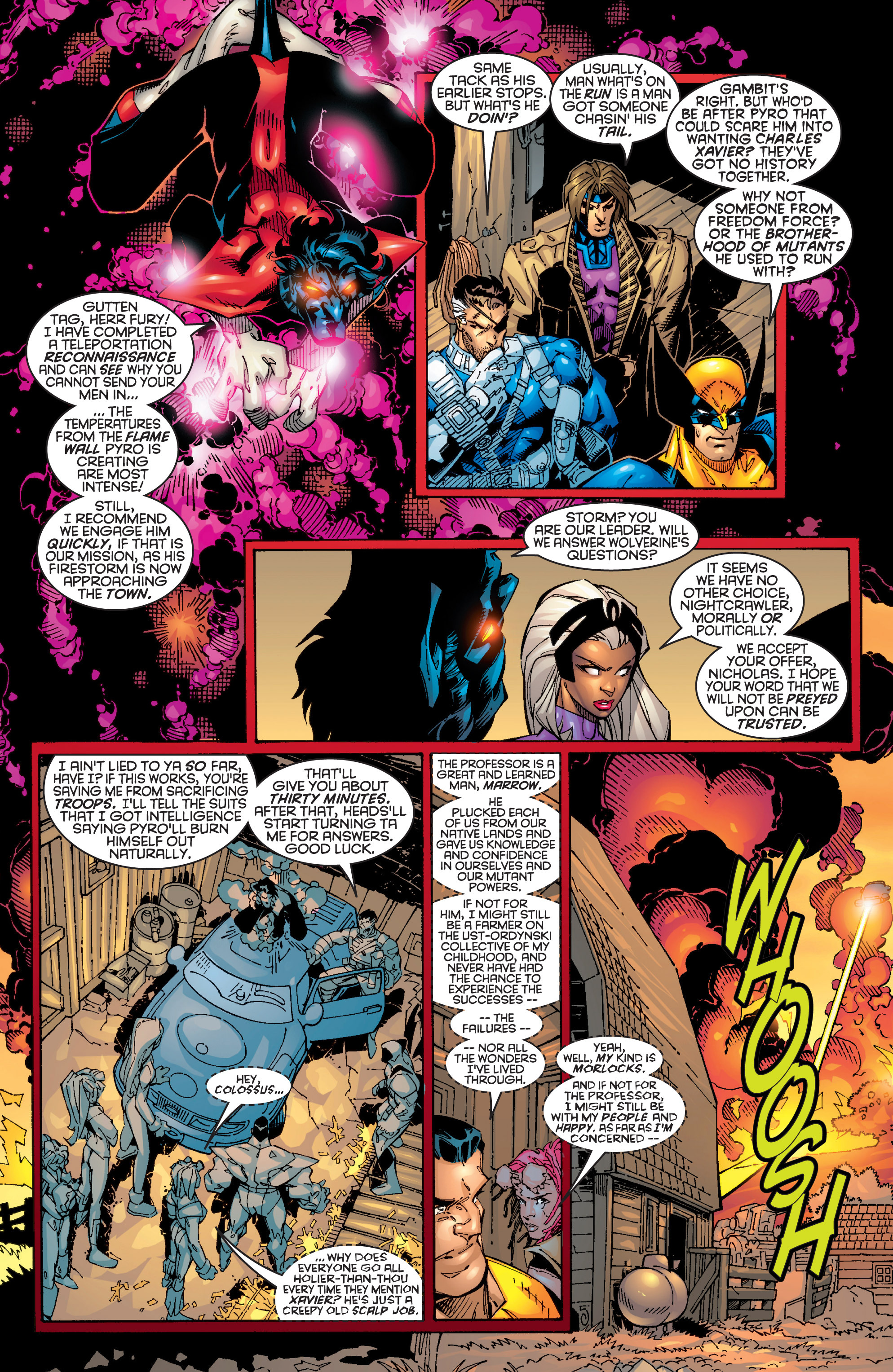 Read online Uncanny X-Men (1963) comic -  Issue #362 - 5