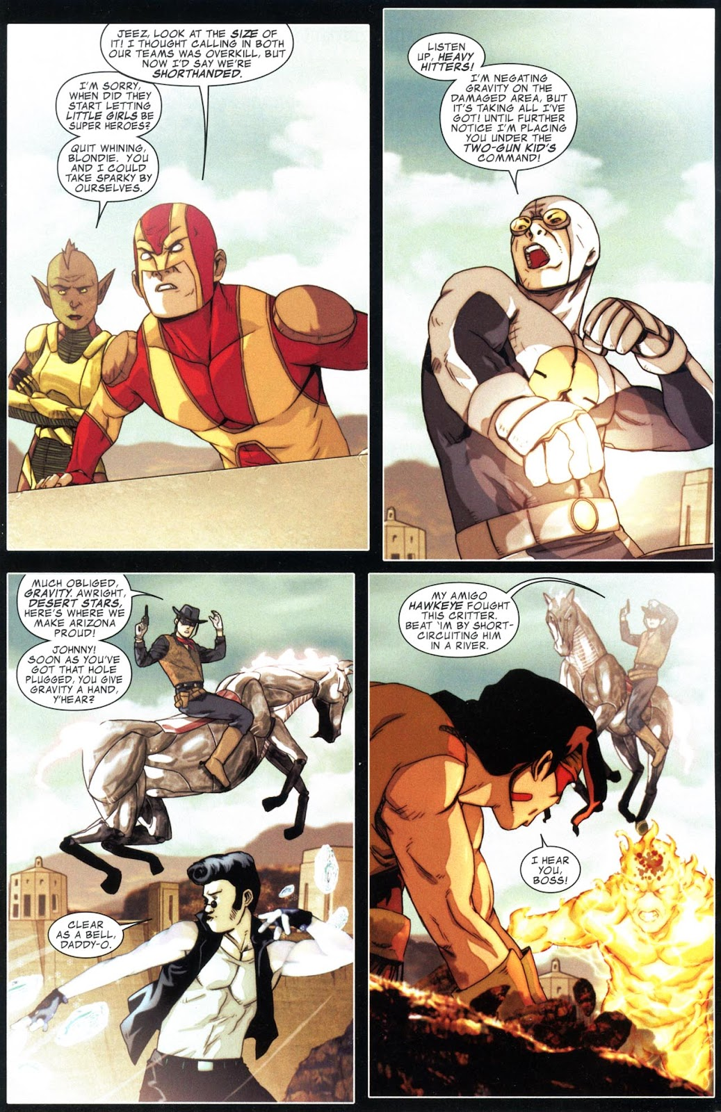 Read online Avengers: The Initiative comic -  Issue # _Special 1 - 5