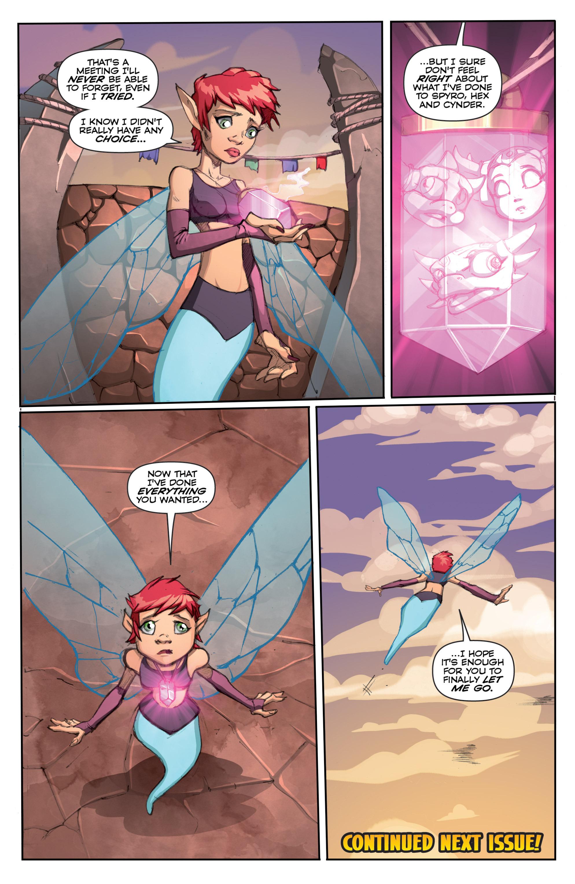 Read online Skylanders comic -  Issue #6 - 22
