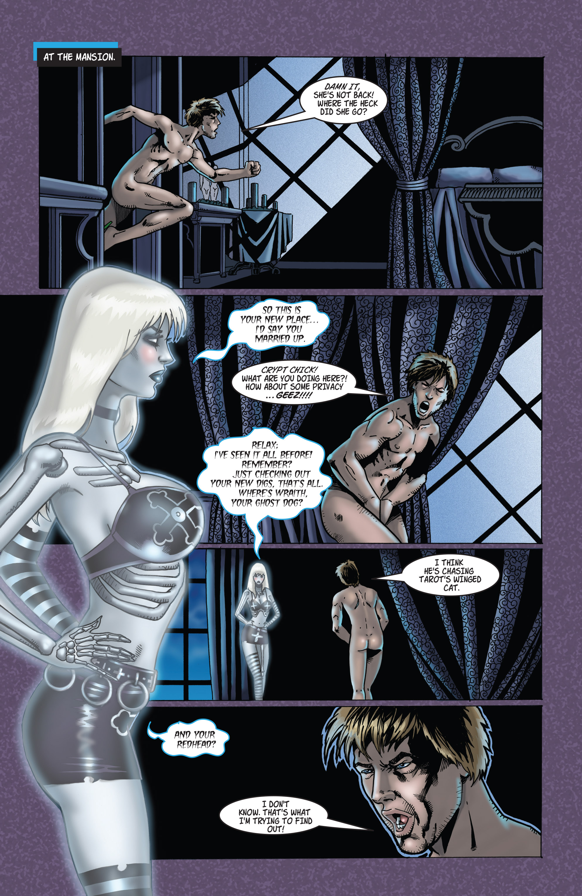 Read online Tarot: Witch of the Black Rose comic -  Issue #103 - 22