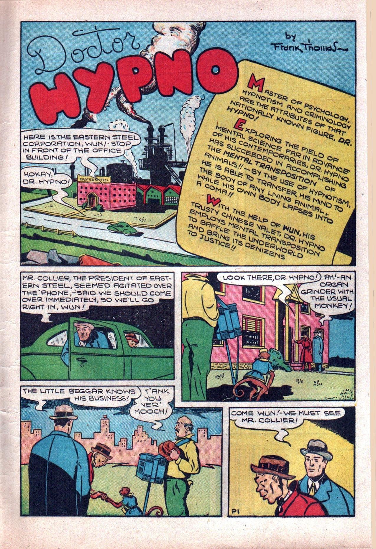 Read online Amazing Man Comics comic -  Issue #20 - 16