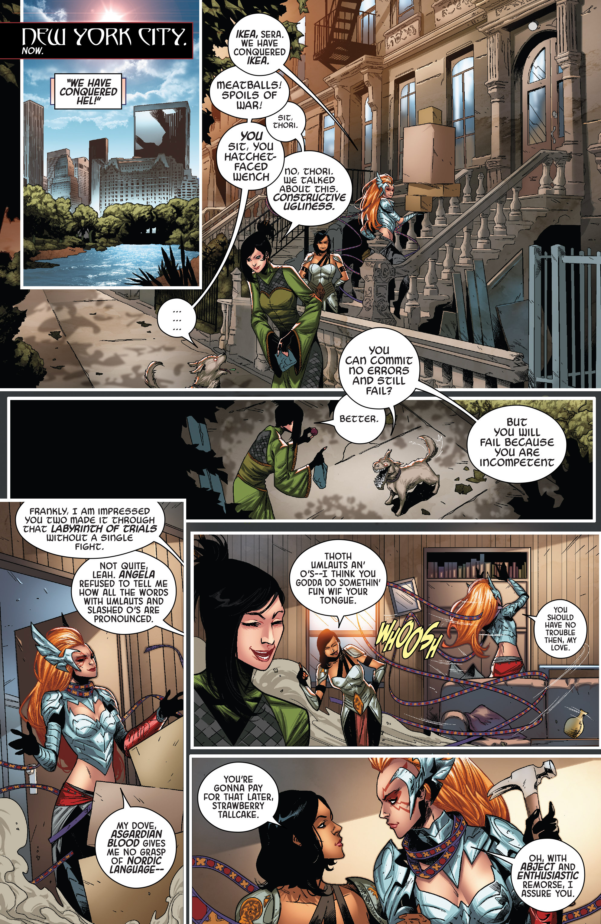 Read online Angela: Queen Of Hel comic -  Issue #6 - 3