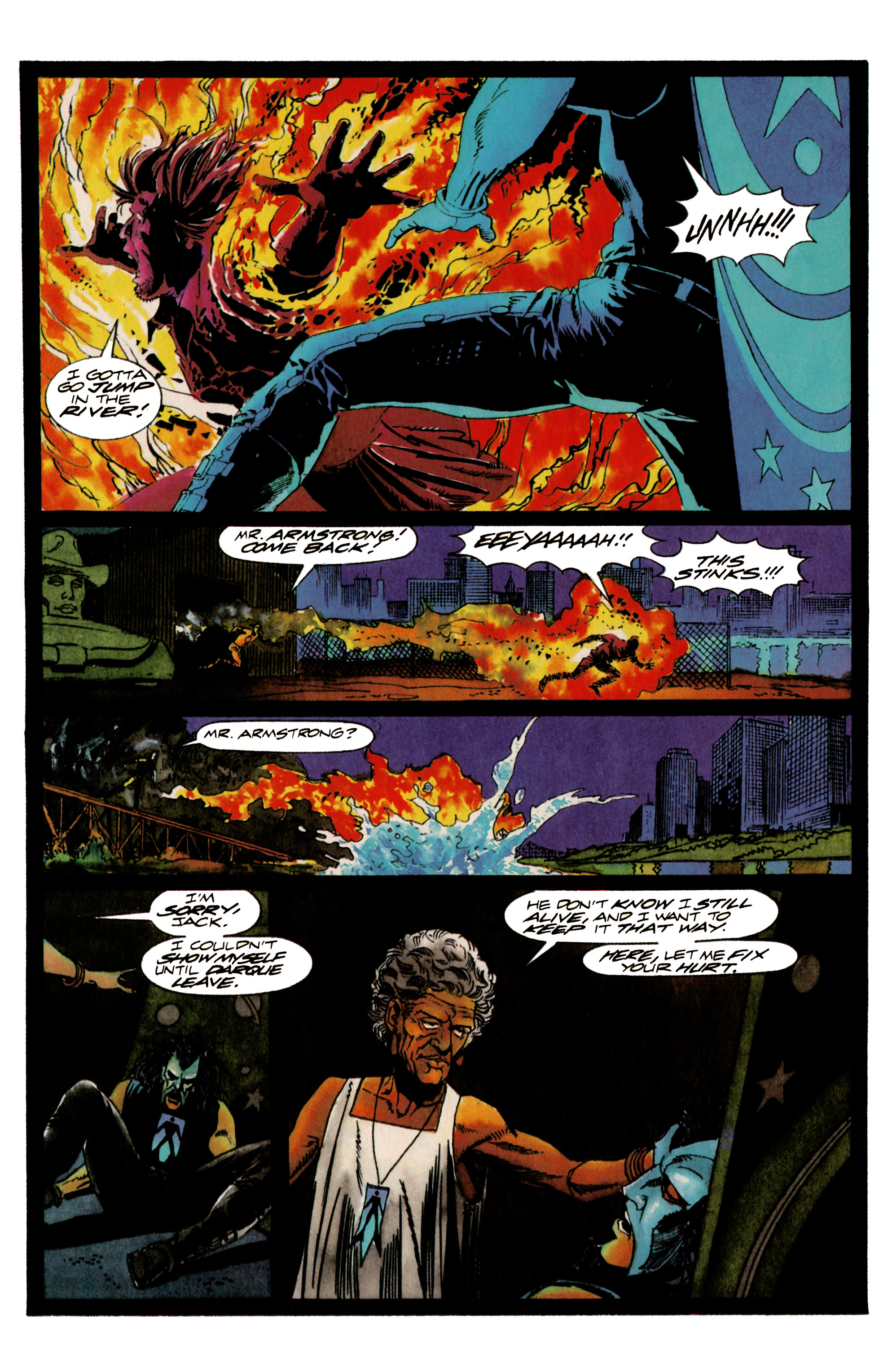 Read online Shadowman (1992) comic -  Issue #17 - 16