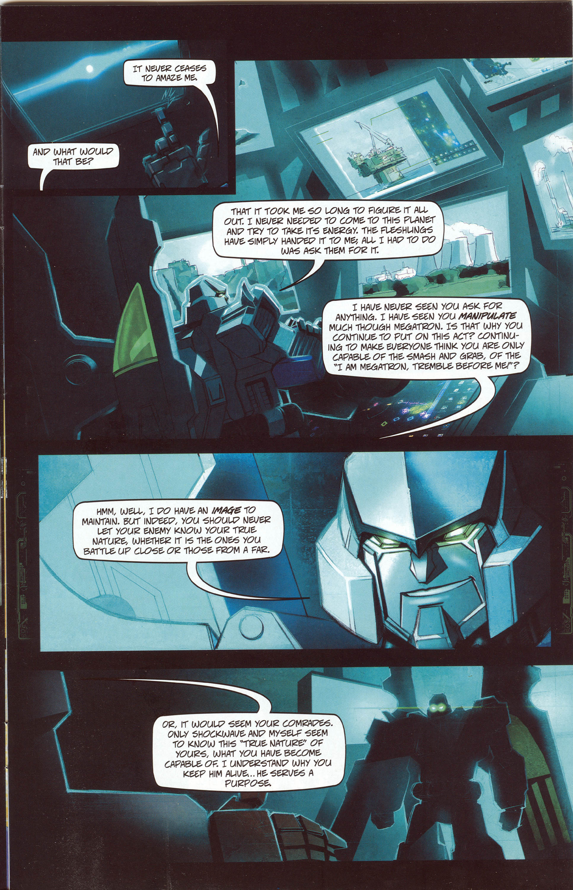 Read online Transformers: Collectors' Club comic -  Issue #30 - 5