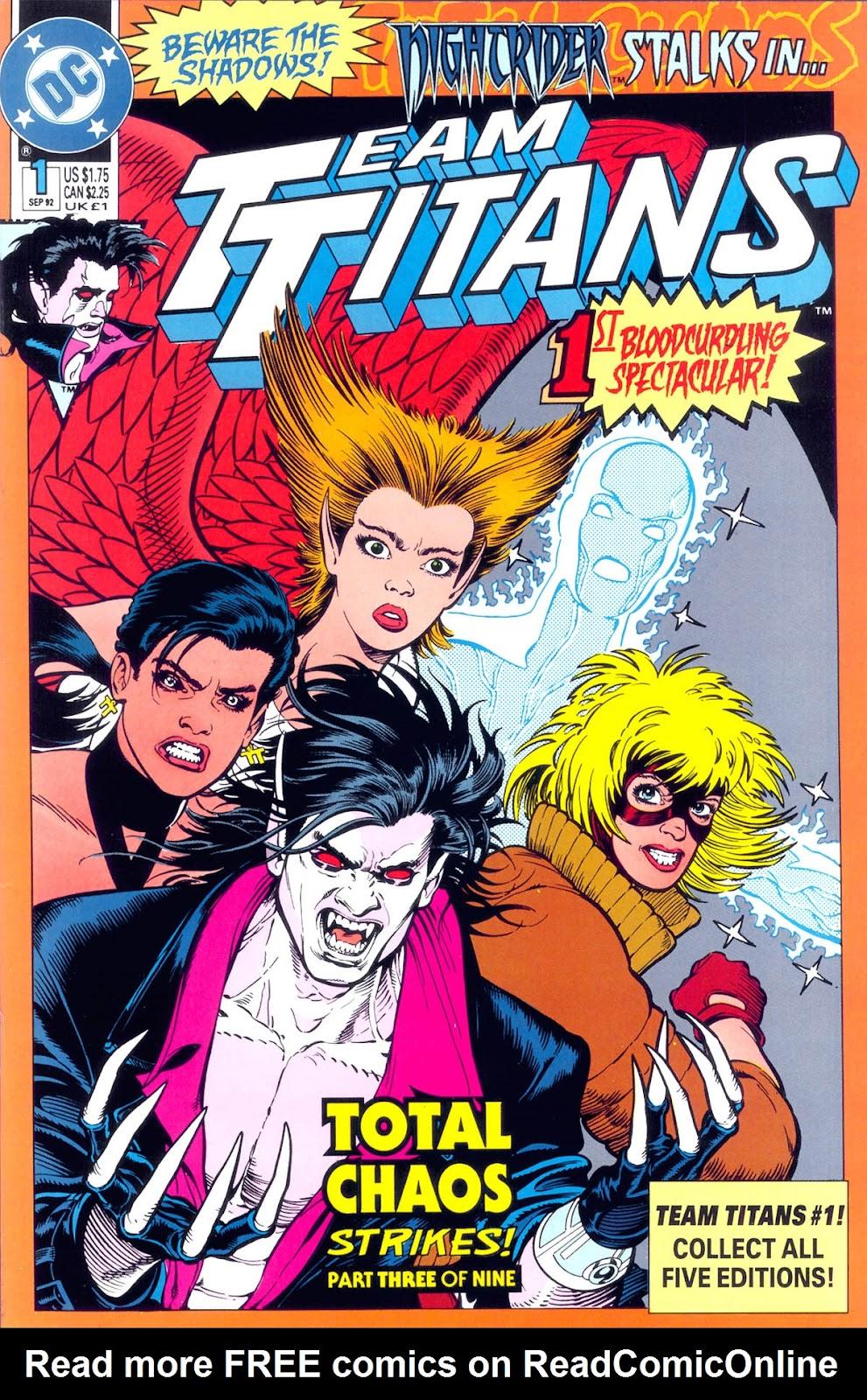 Read online Team Titans comic -  Issue #1c - 1