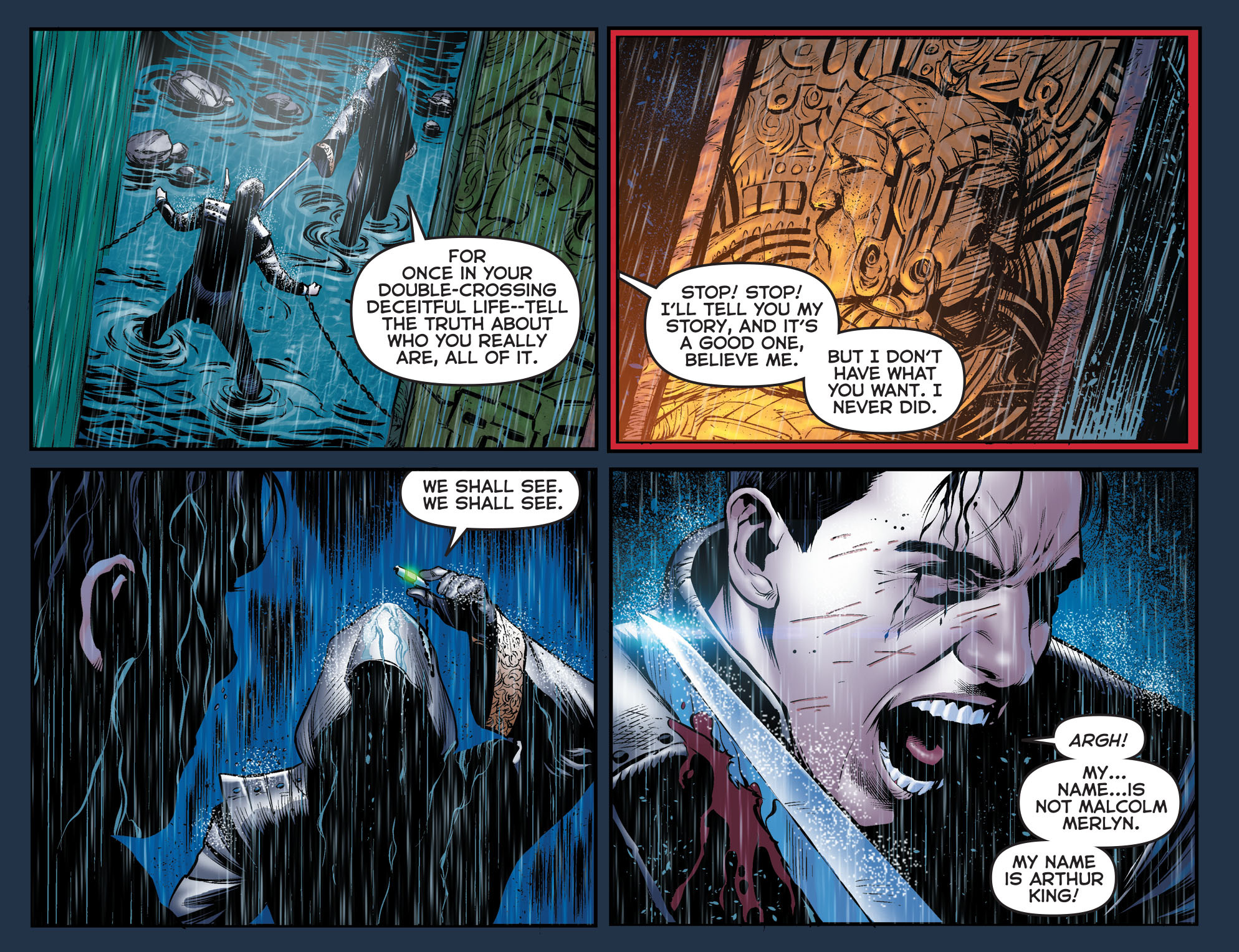 Read online Arrow: The Dark Archer comic -  Issue #2 - 4