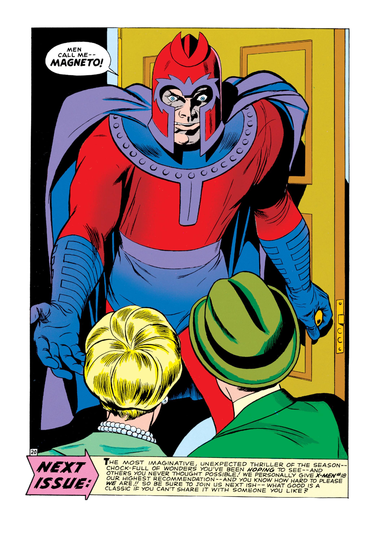 Uncanny X-Men (1963) 17 Page 20
