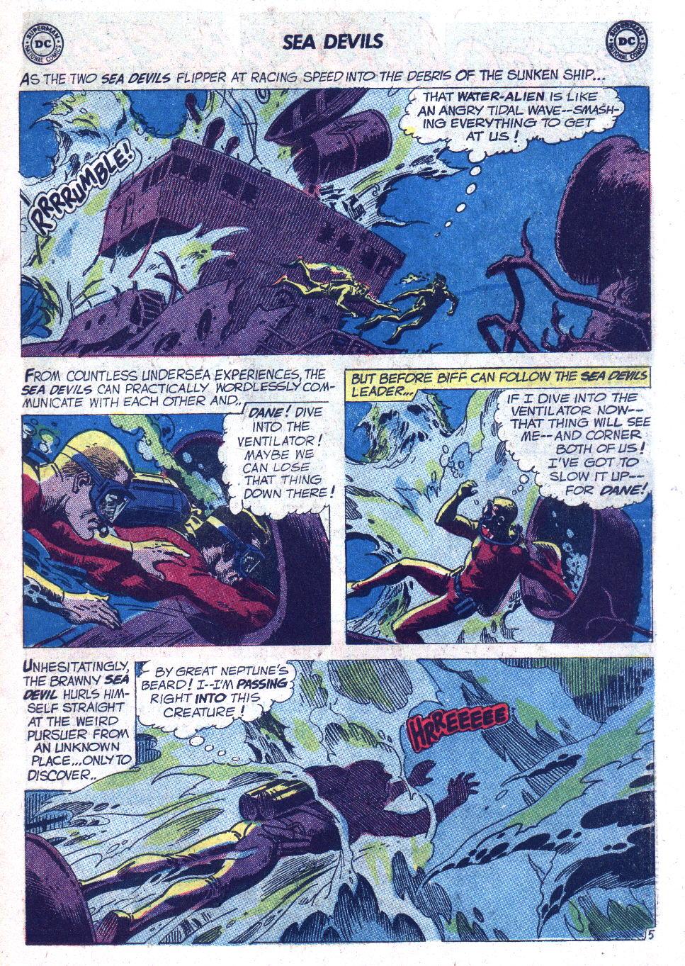 Read online Sea Devils comic -  Issue #7 - 8