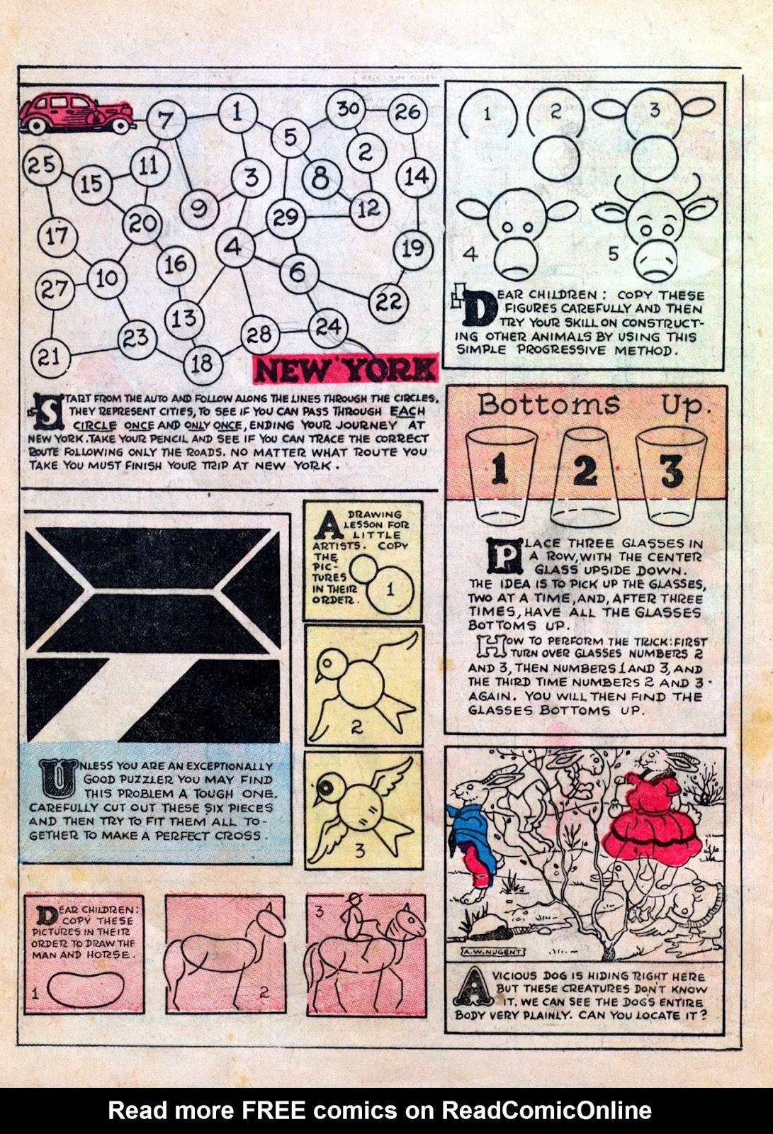 Read online Famous Funnies comic -  Issue #6 - 60