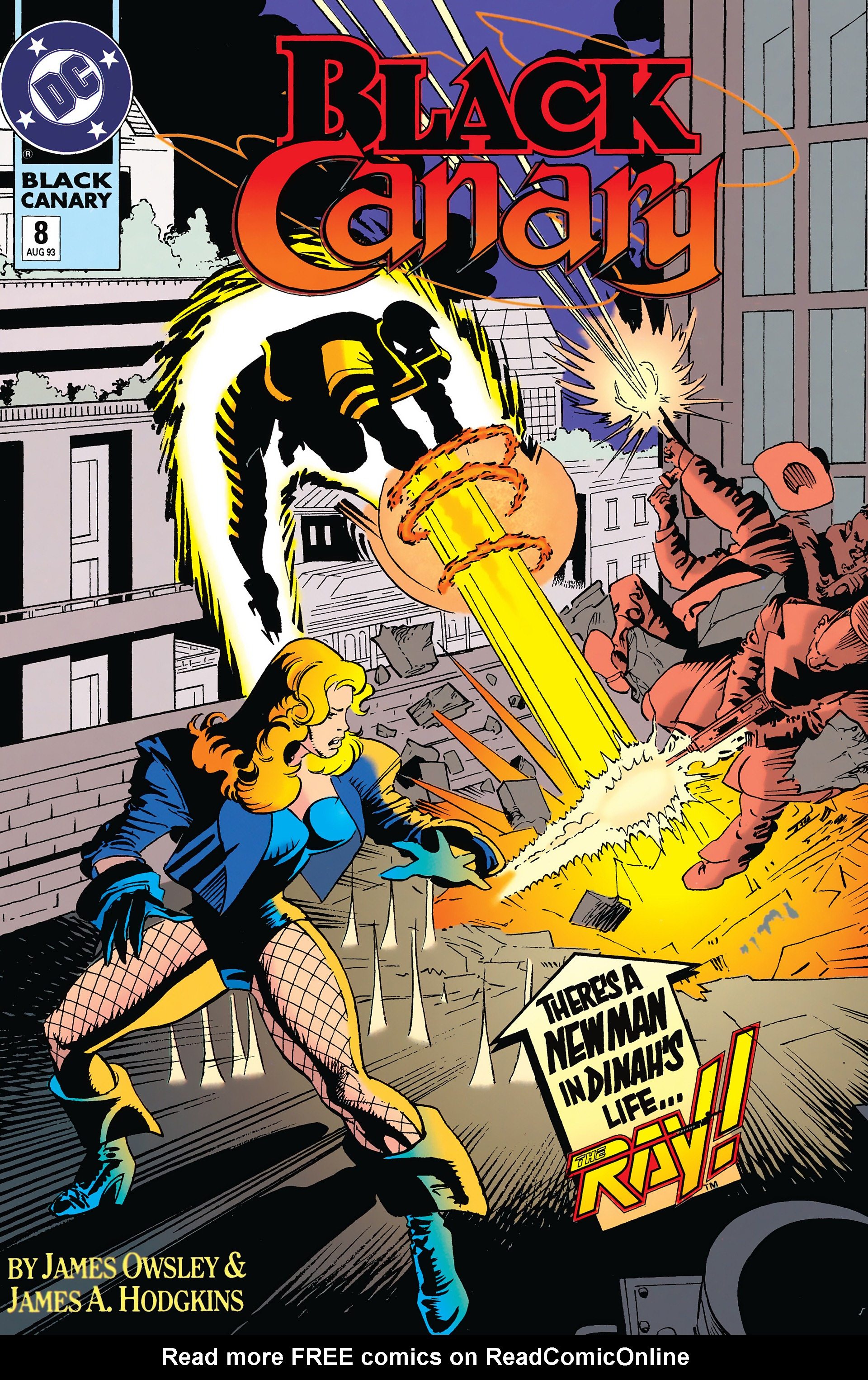 Black Canary (1993) 8 Page 1
