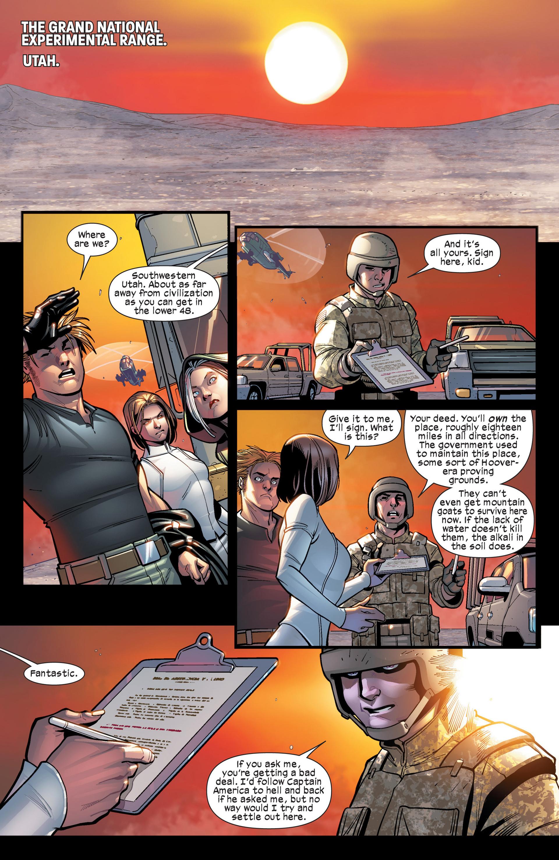 Read online Ultimate Comics X-Men comic -  Issue #19 - 4